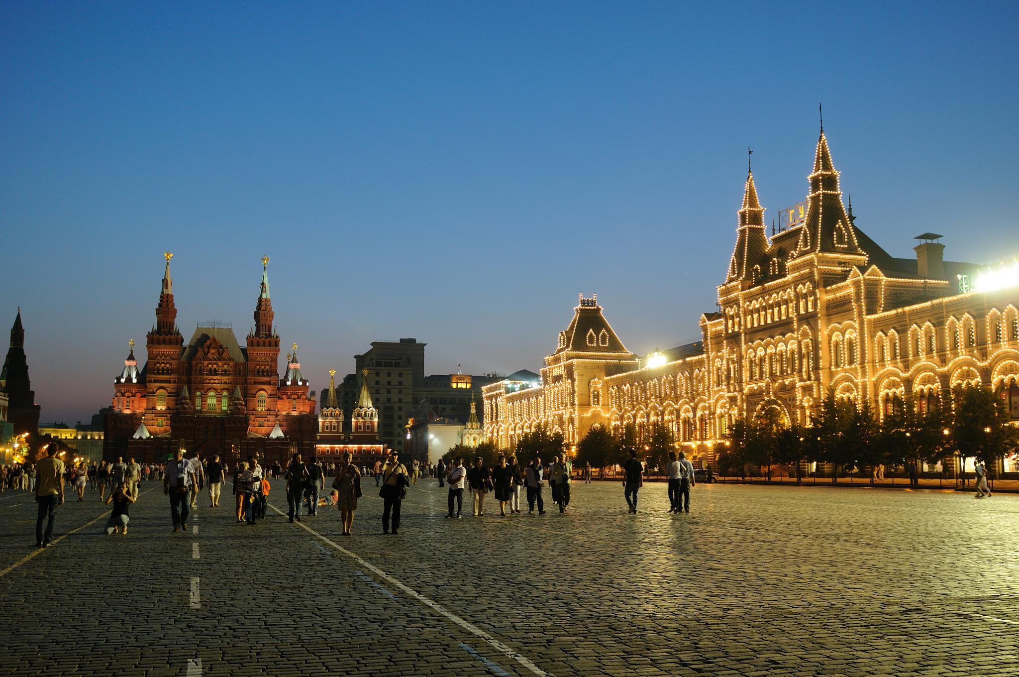 Red Square by Zhenya Rozinskiy