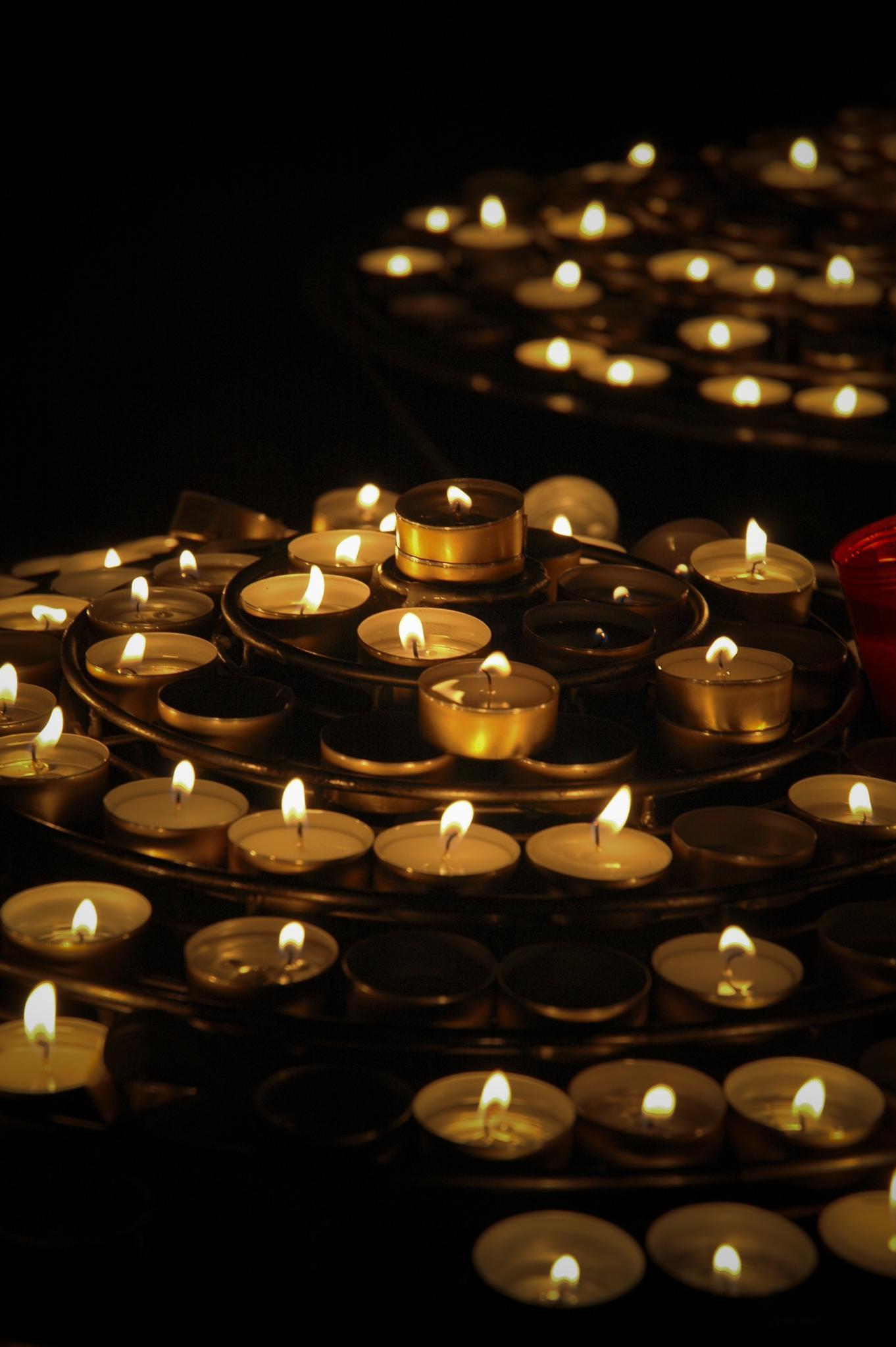 Candles  by Zhenya Rozinskiy