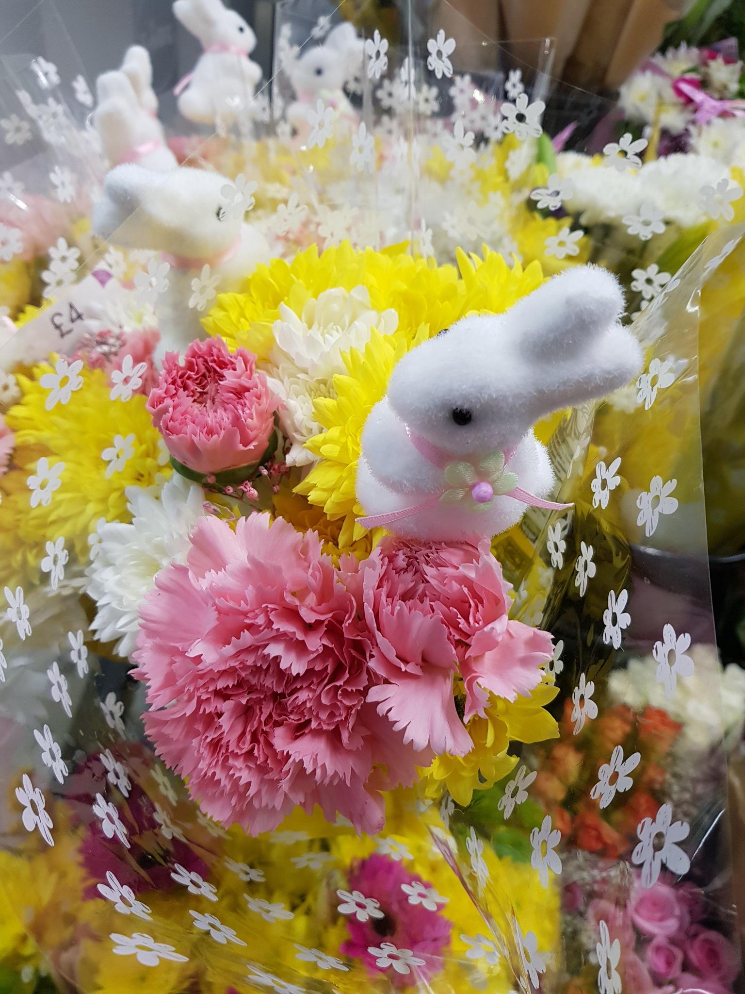 Bunny flower  by Glorwen