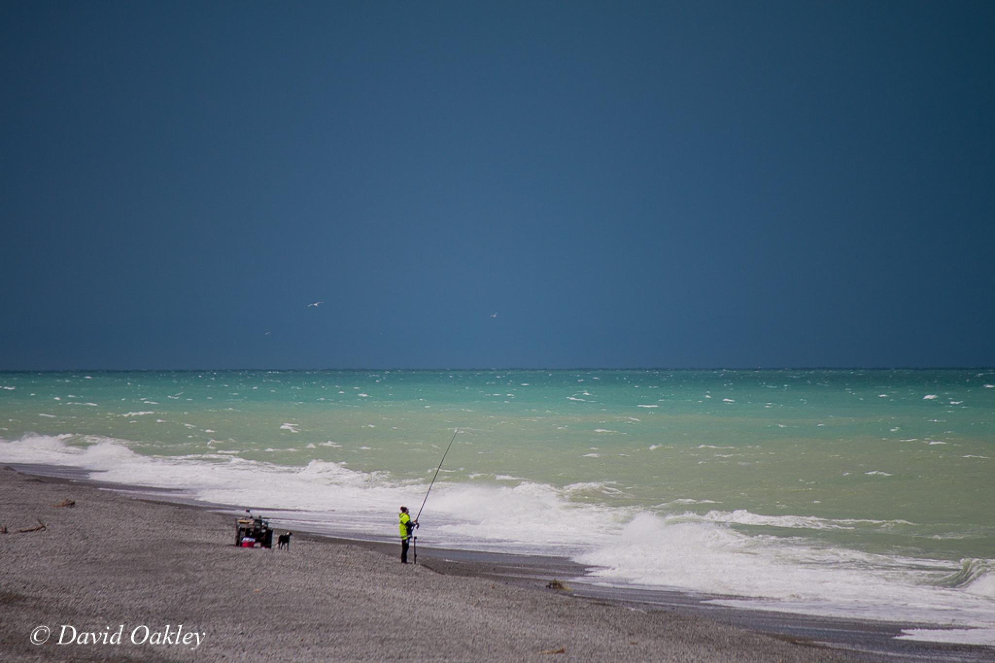 Hardy Fisherman by David Oakley
