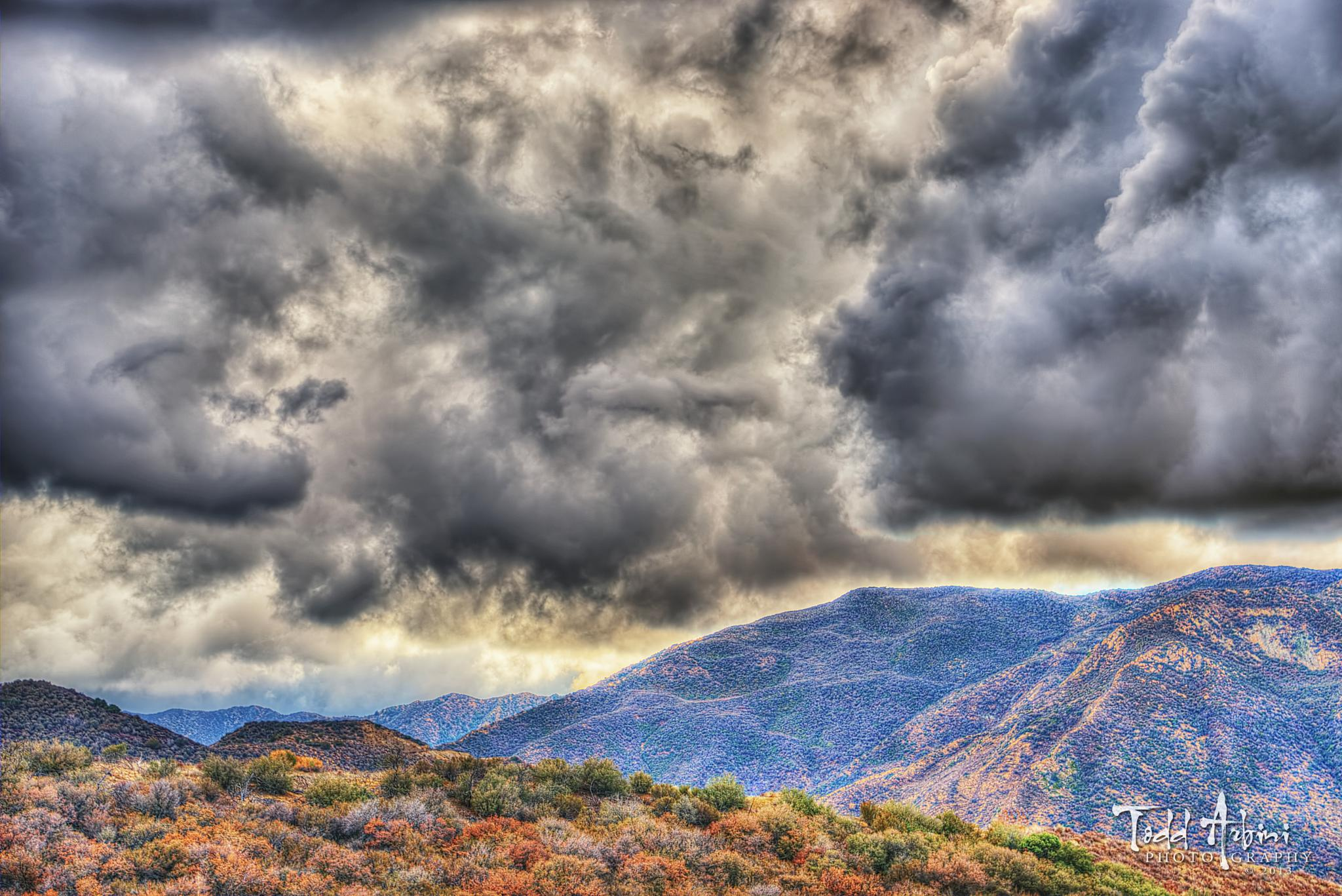 High Mountain Storm by Todd Arbini