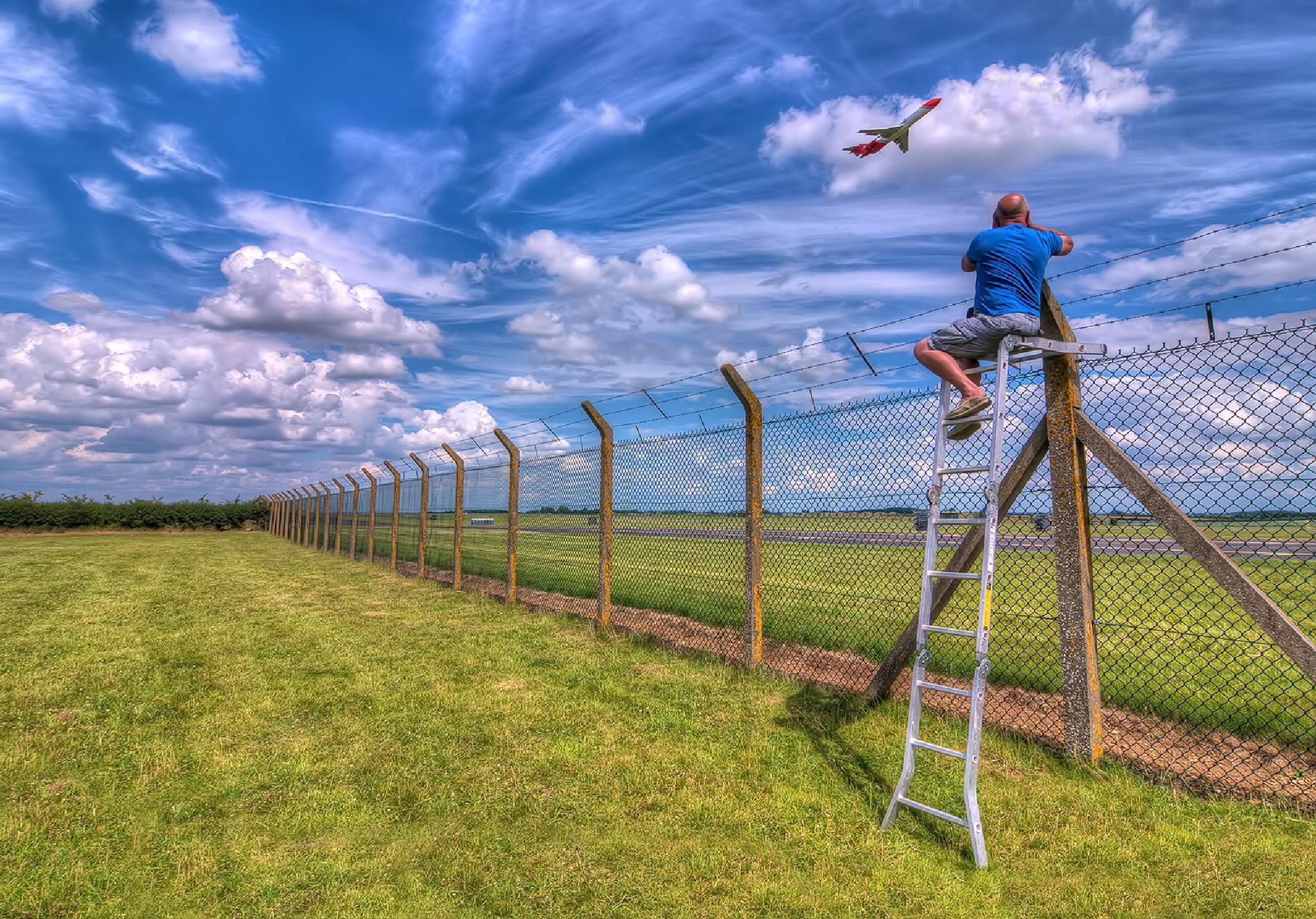 The Plane Spotter by Darrell Burnett