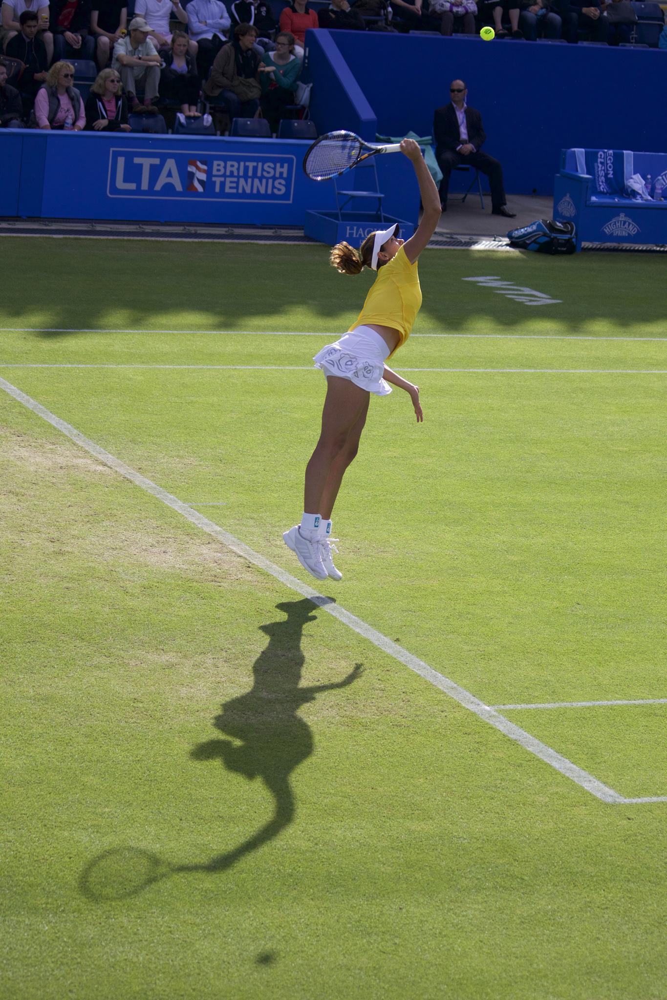 Shadowing Tennis by AlGurr