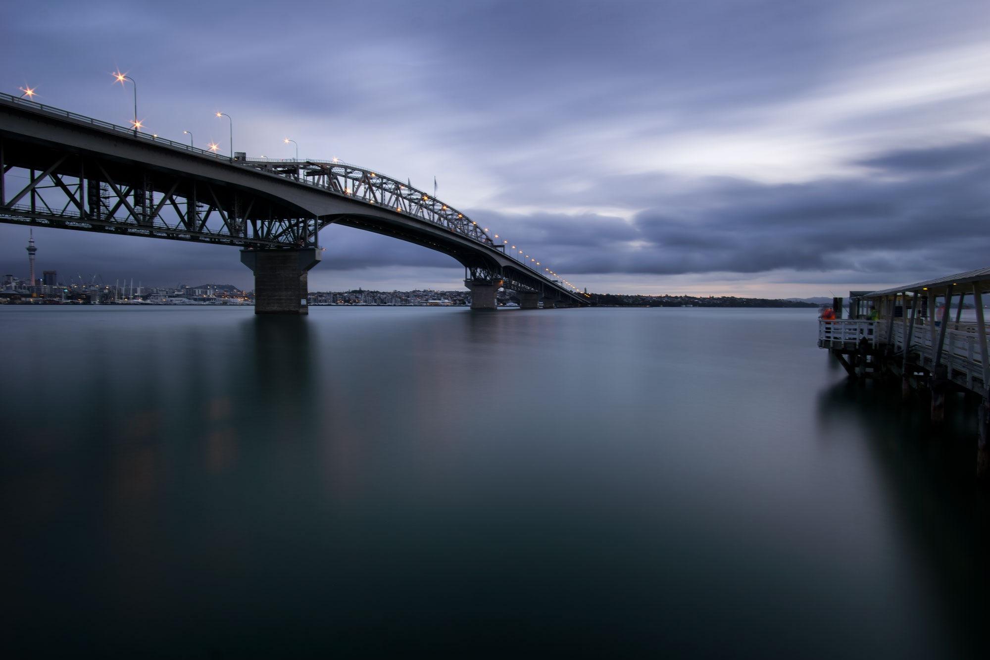 Bridge and Pier by Graham Averell
