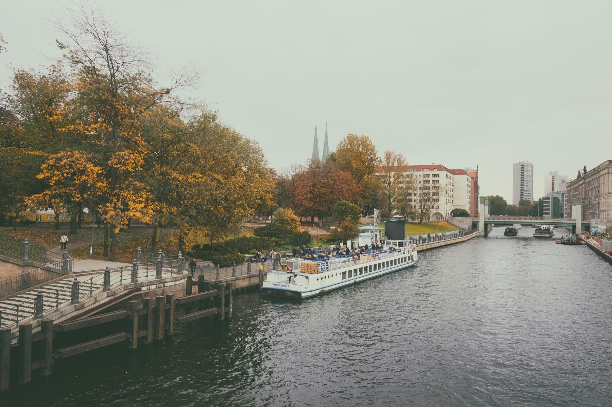 Autumn in Berlin by Ahi Von B