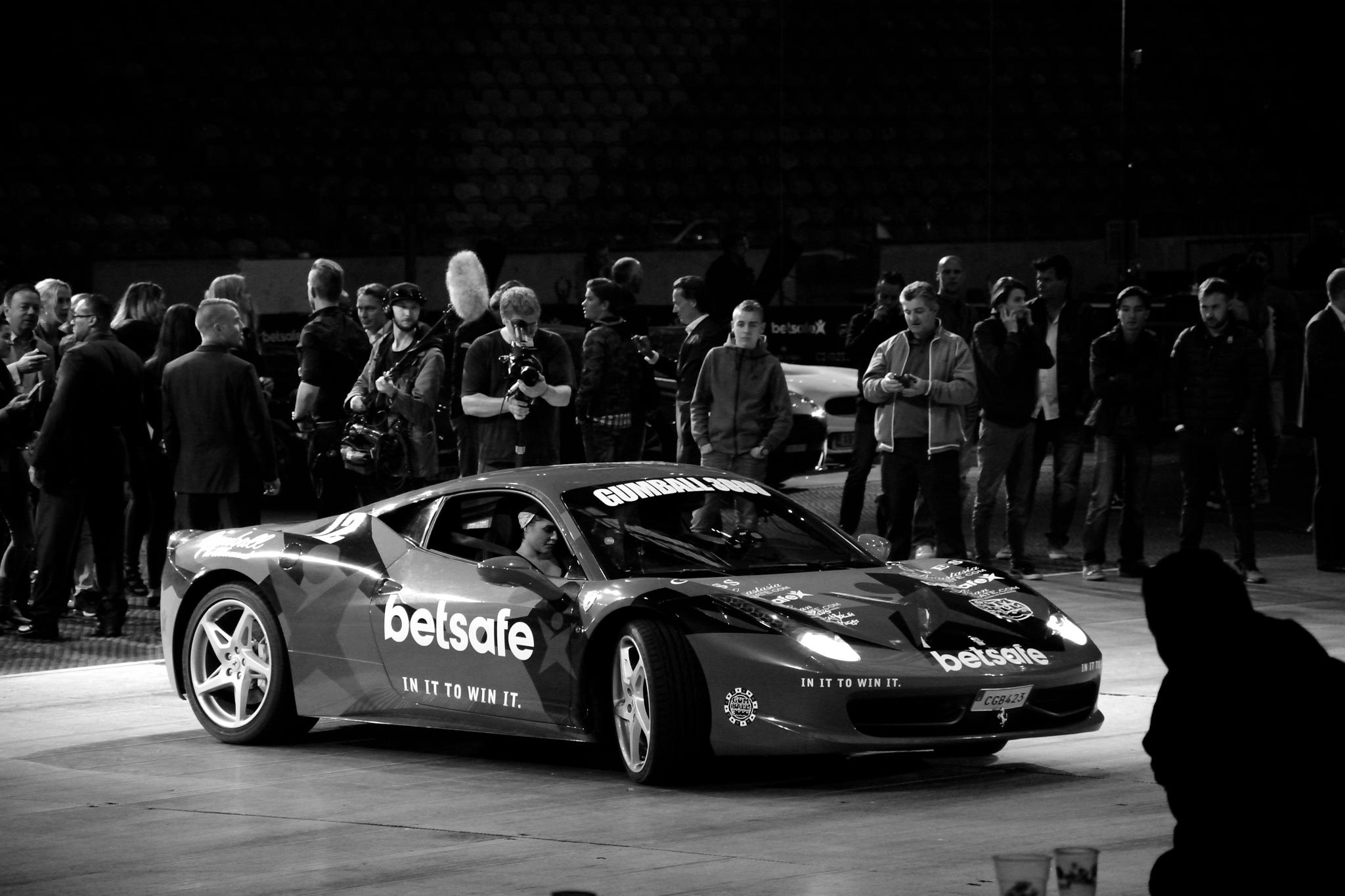 Gumball 3000 at the Amsterdam Arena, Netherlands by Wim Byl
