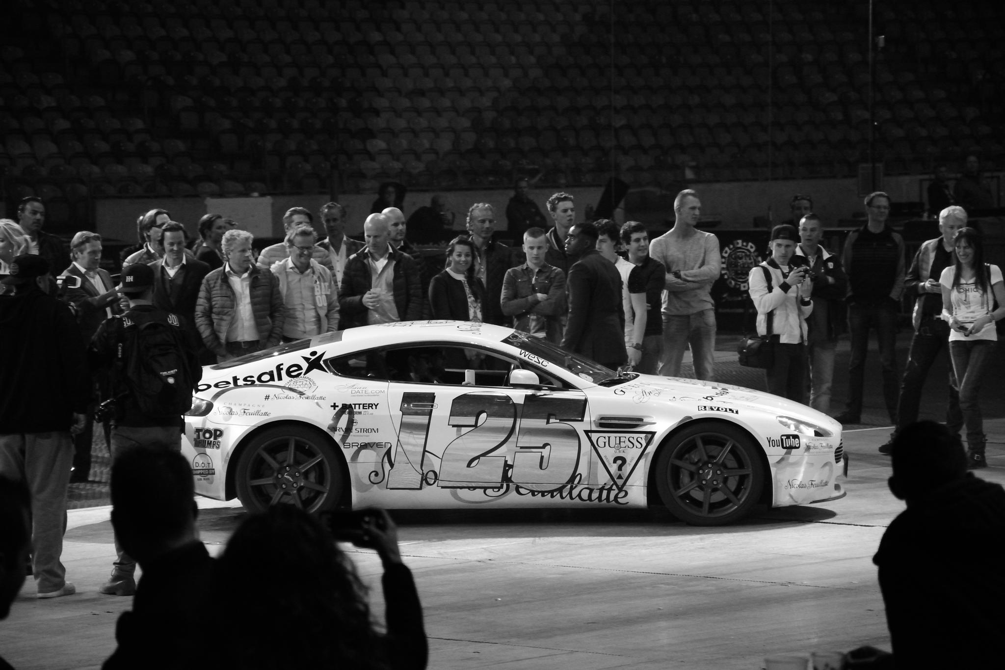 Aston Martin at the Gumball 3000 Amsterdam, Netherlands by Wim Byl