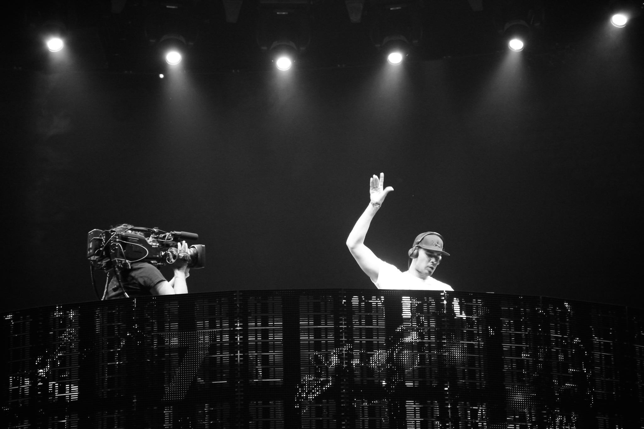 Afrojack at the Amsterdam Arena by Wim Byl