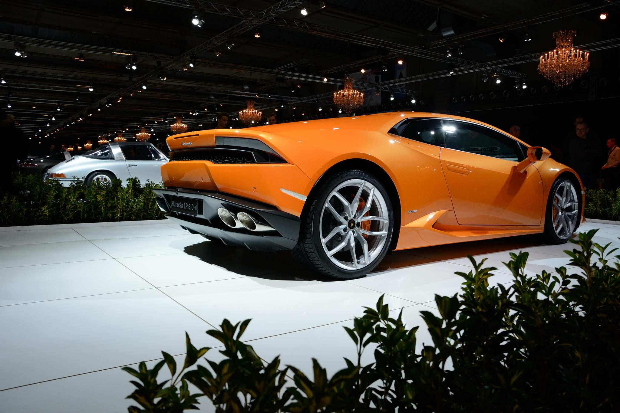 Lamborghini at dreamcars expo, Brussel, Belgium by Wim Byl