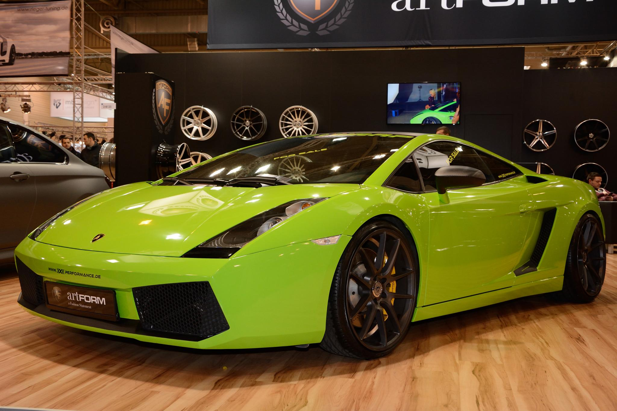 Lamborghini at Essen Motor Show 2014 by Wim Byl