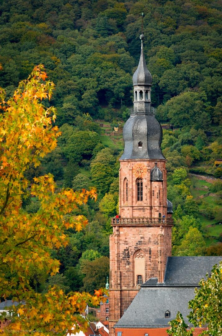 Evangelische Kirche by Tomasz Podhalanski