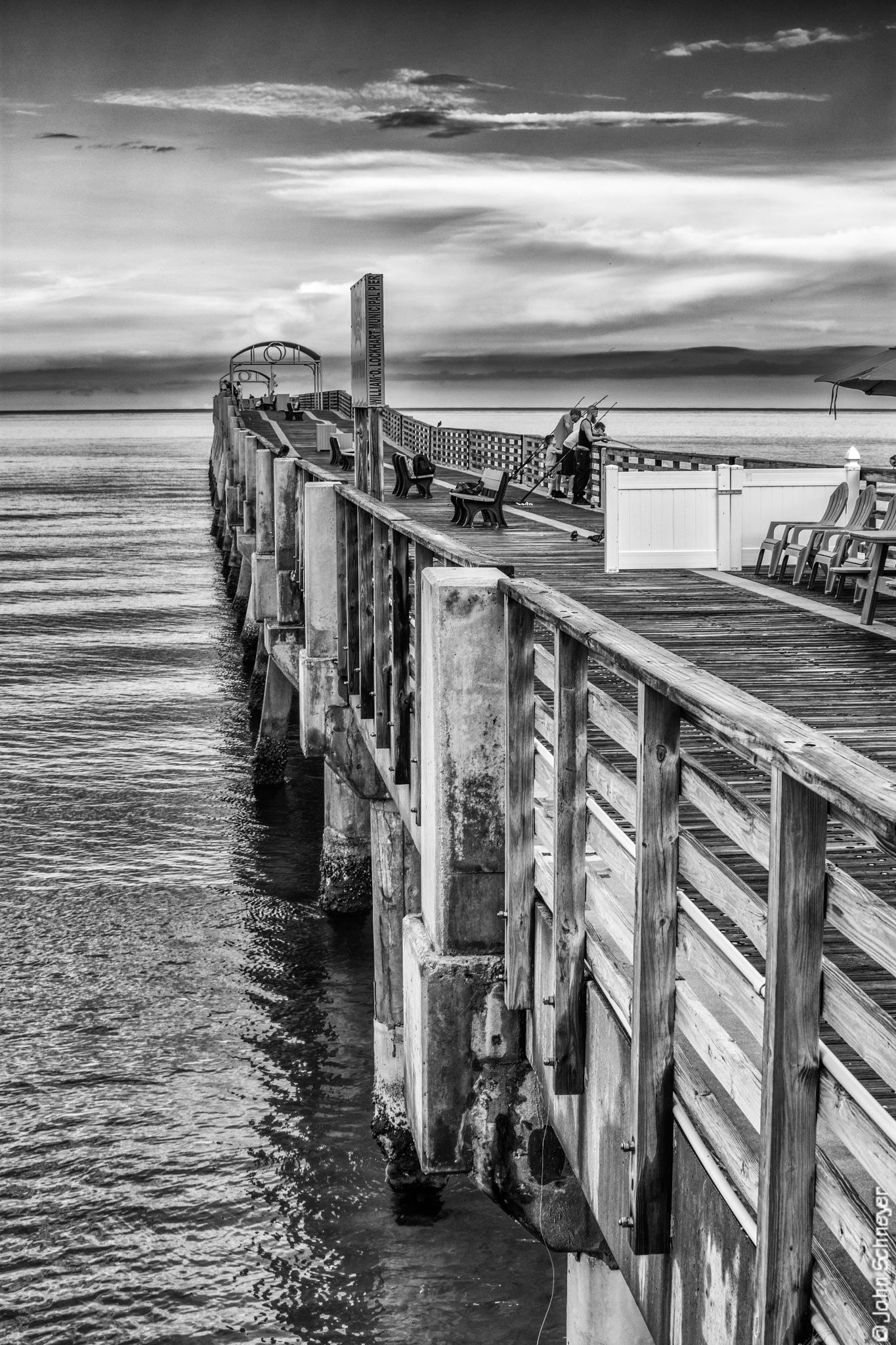 Side of the Pier by John Schneyer