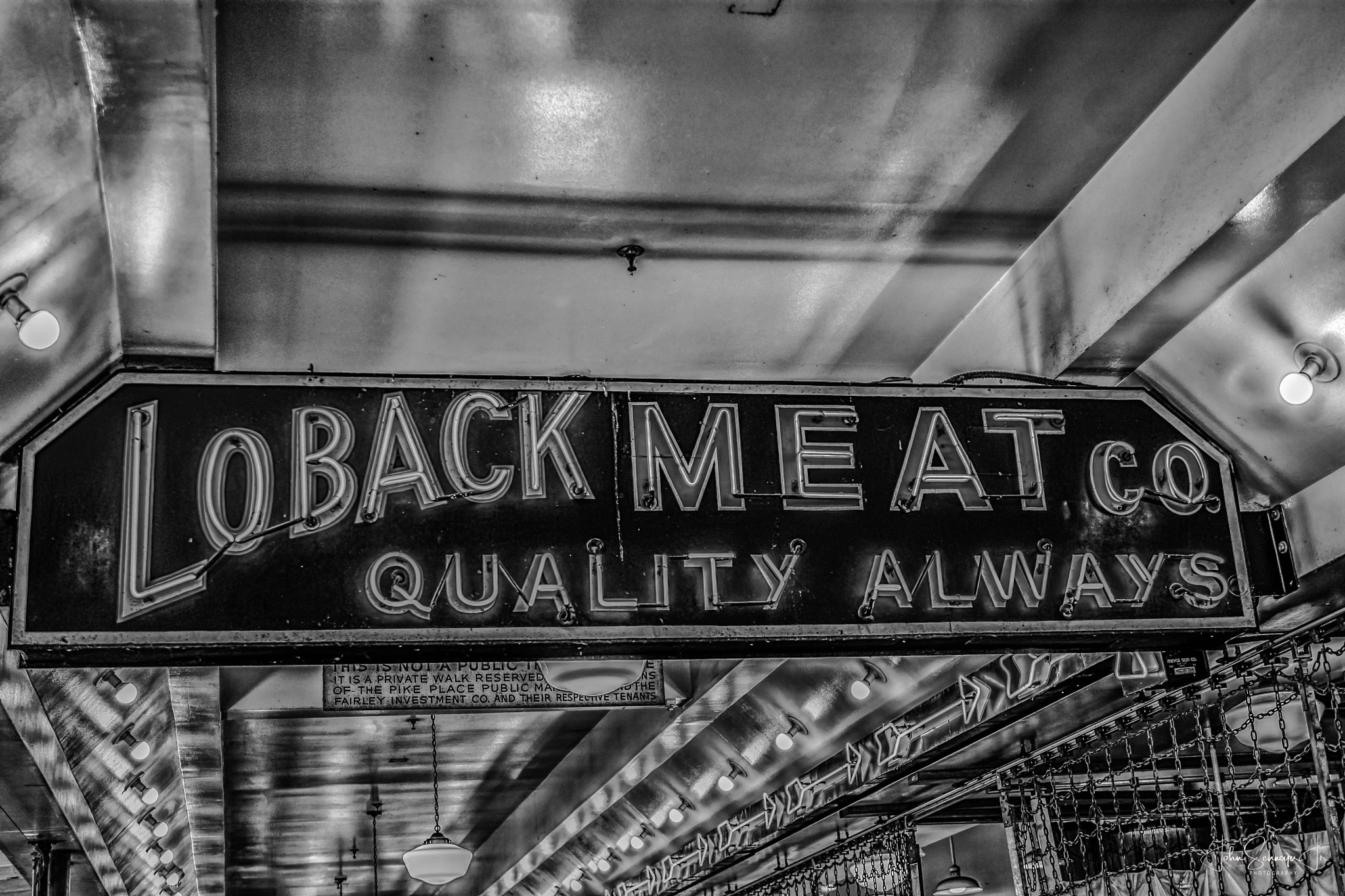 Black and White Meat by John Schneyer