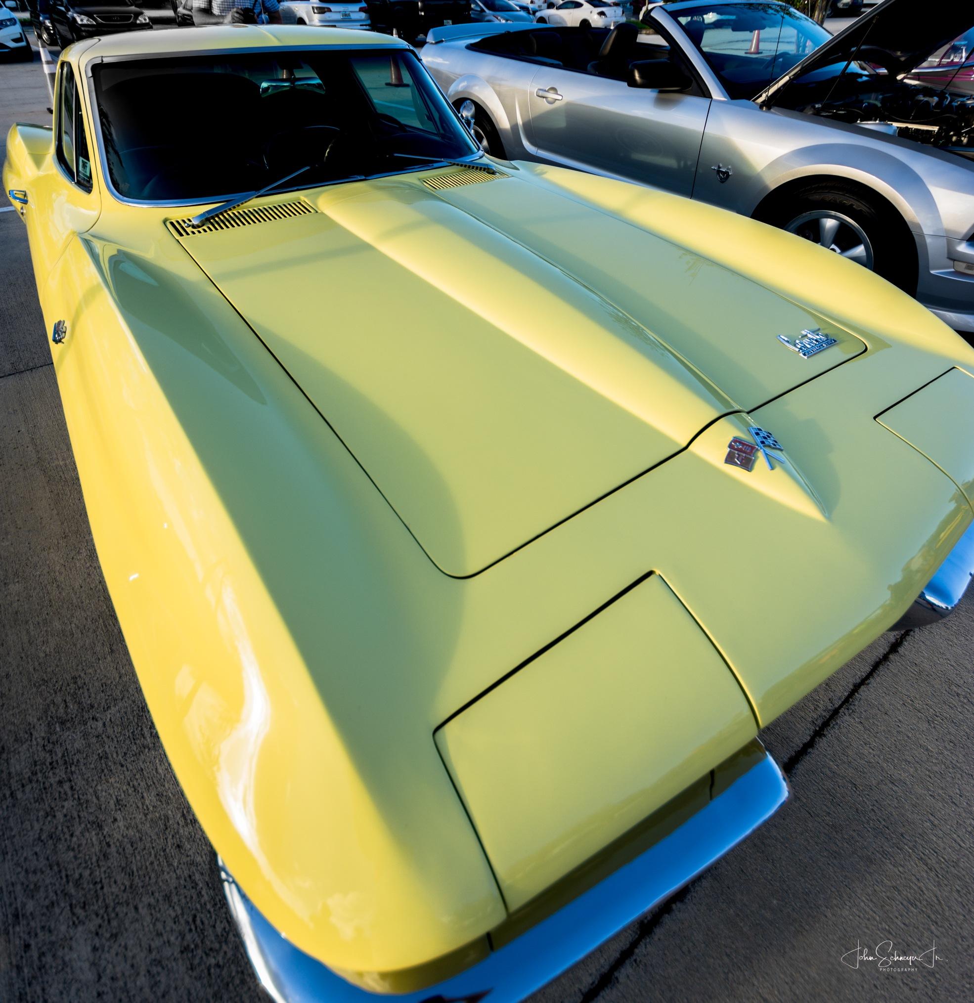 Corvette #2 by John Schneyer