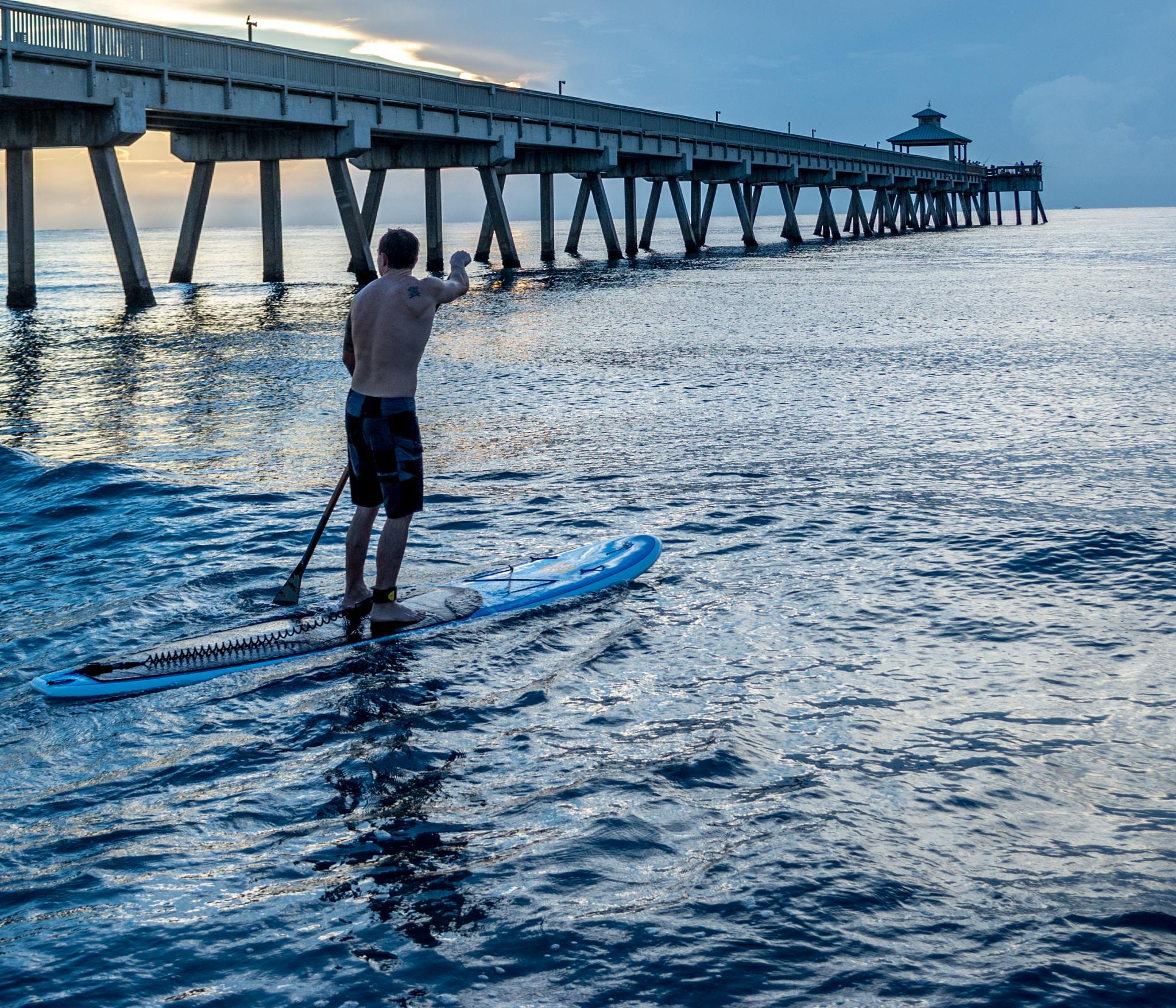 Paddle Board by John Schneyer
