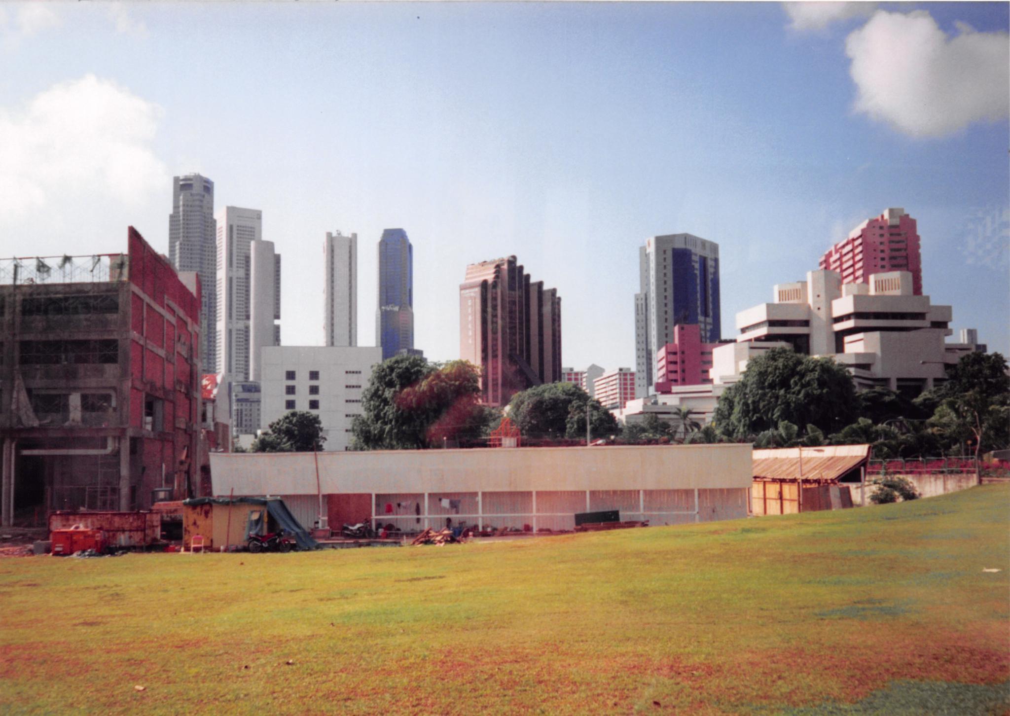Singapore Skyline by John Schneyer