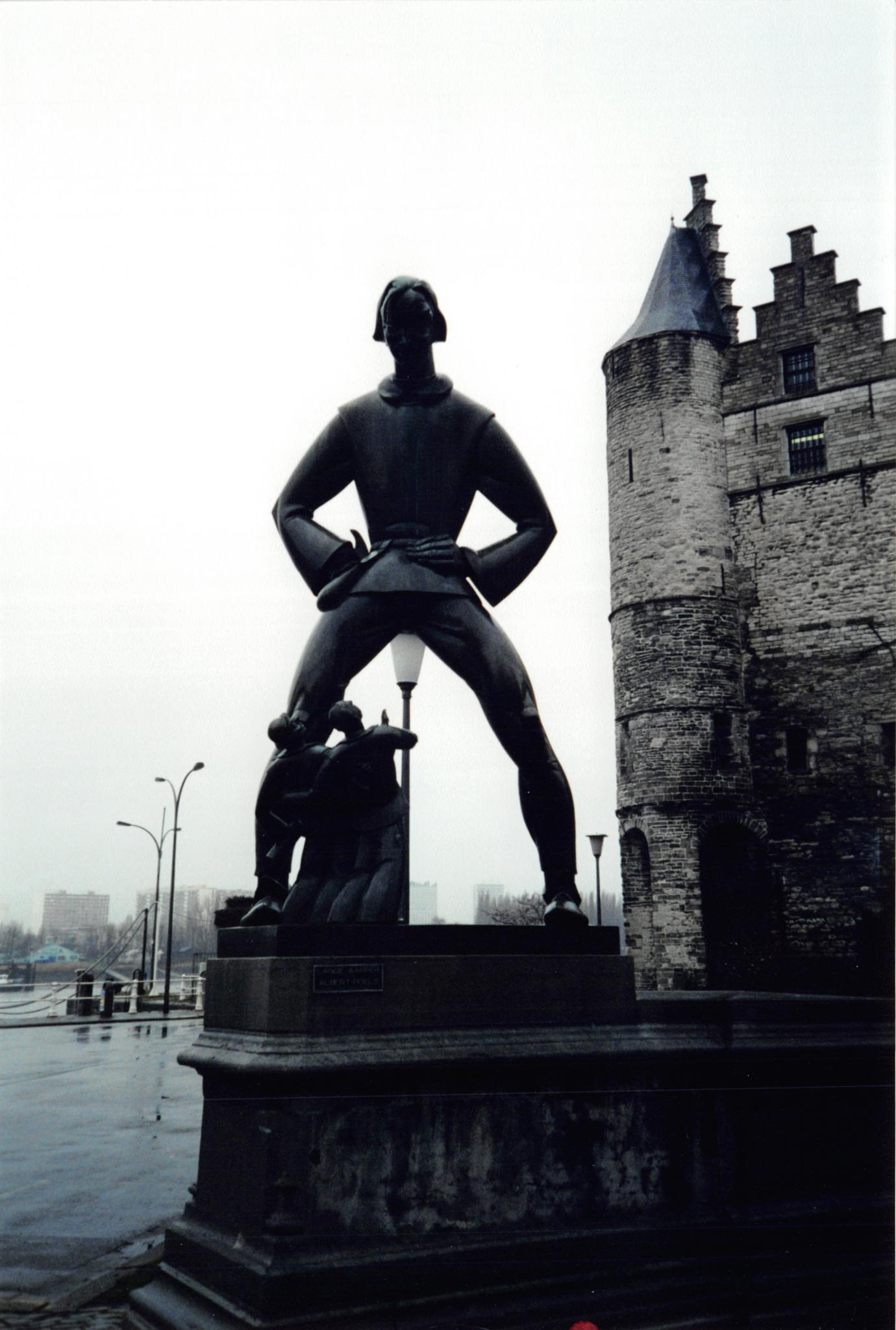 Antwerp Statue by John Schneyer