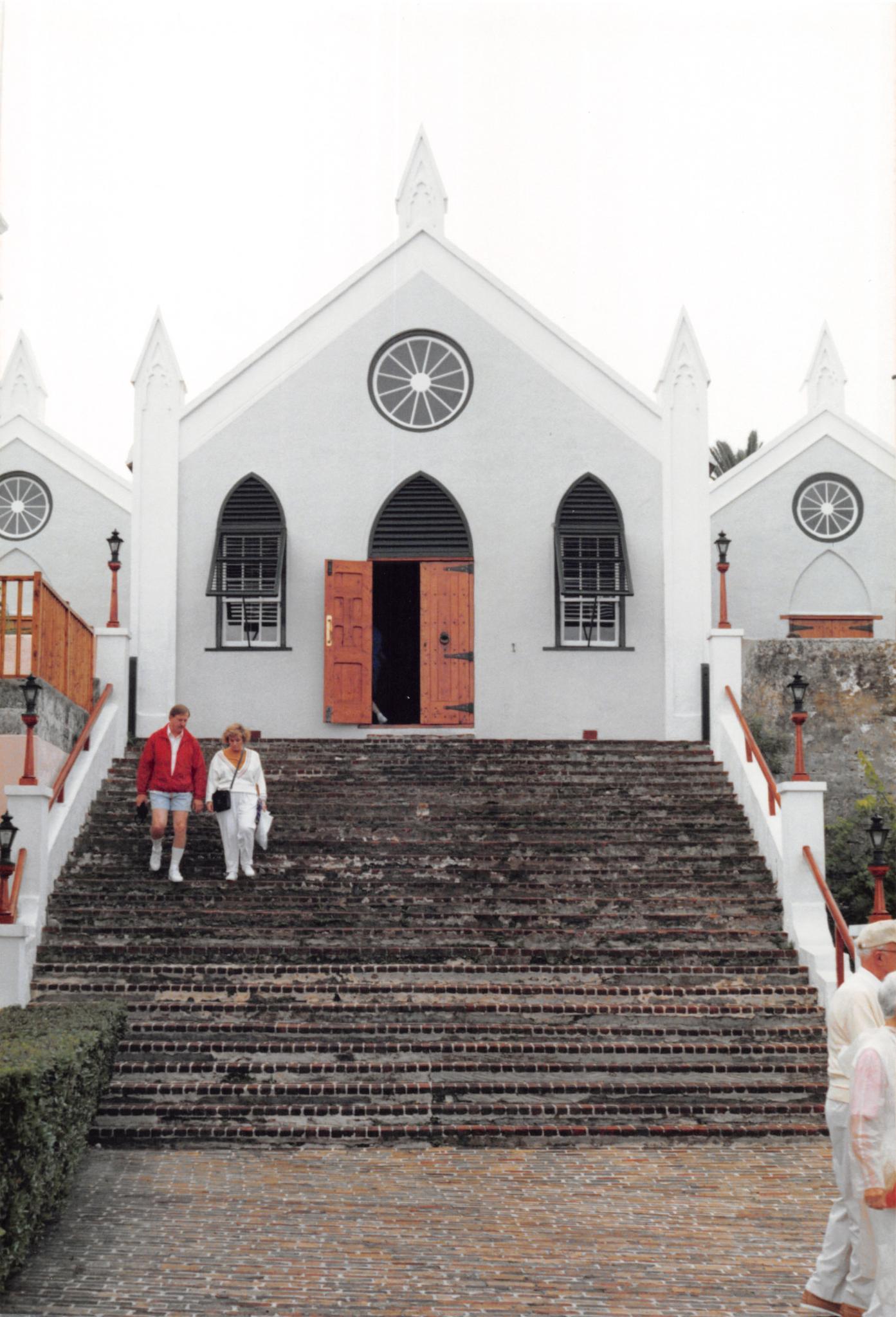 Bermuda Church by John Schneyer