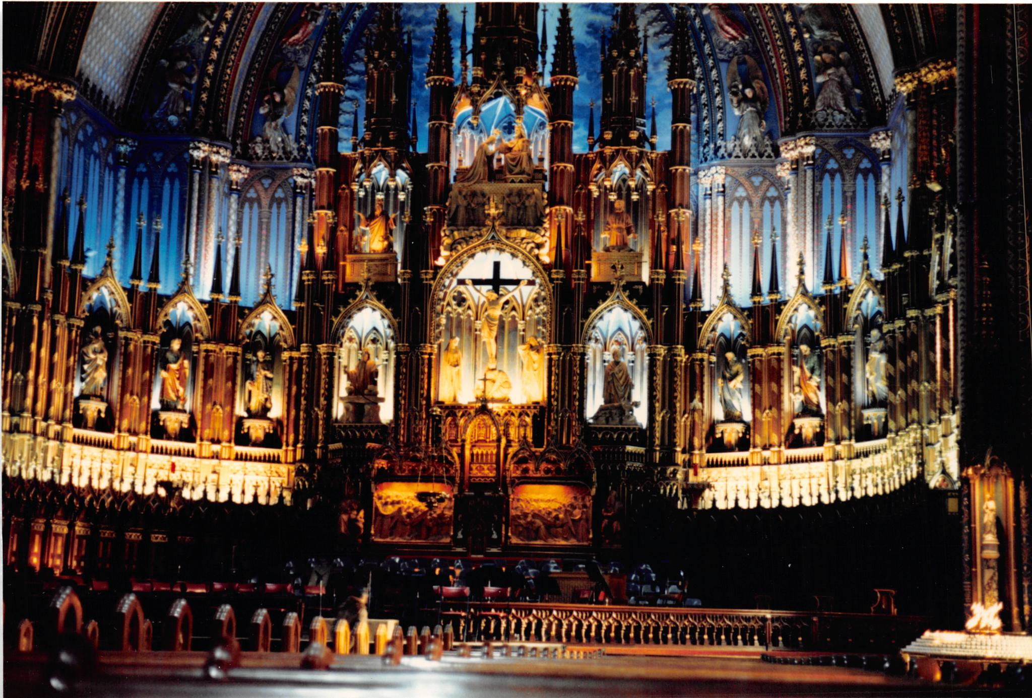 Cathedral Notre Dame, Montreal by John Schneyer