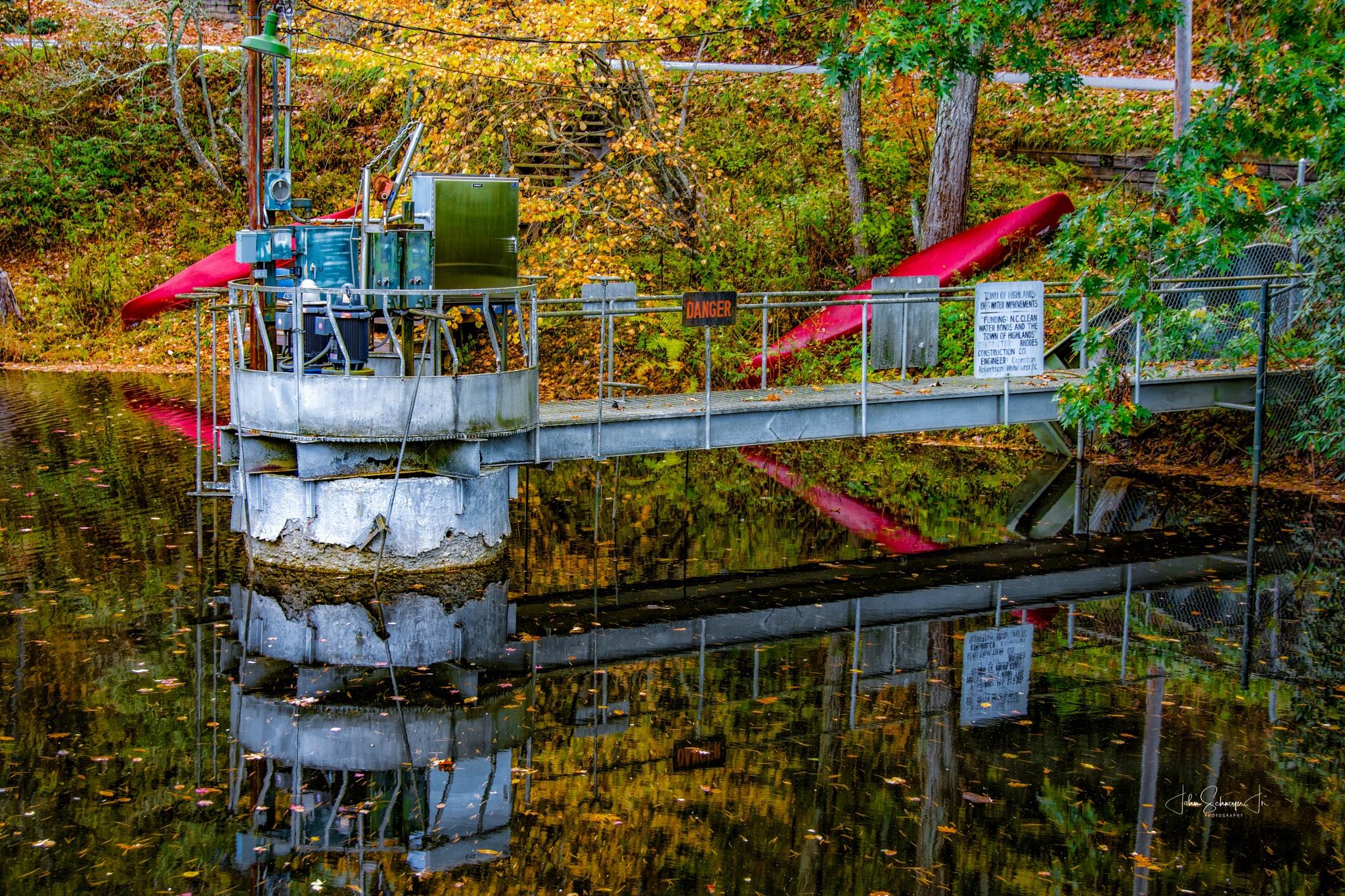 Highlands, N.C. Water by John Schneyer