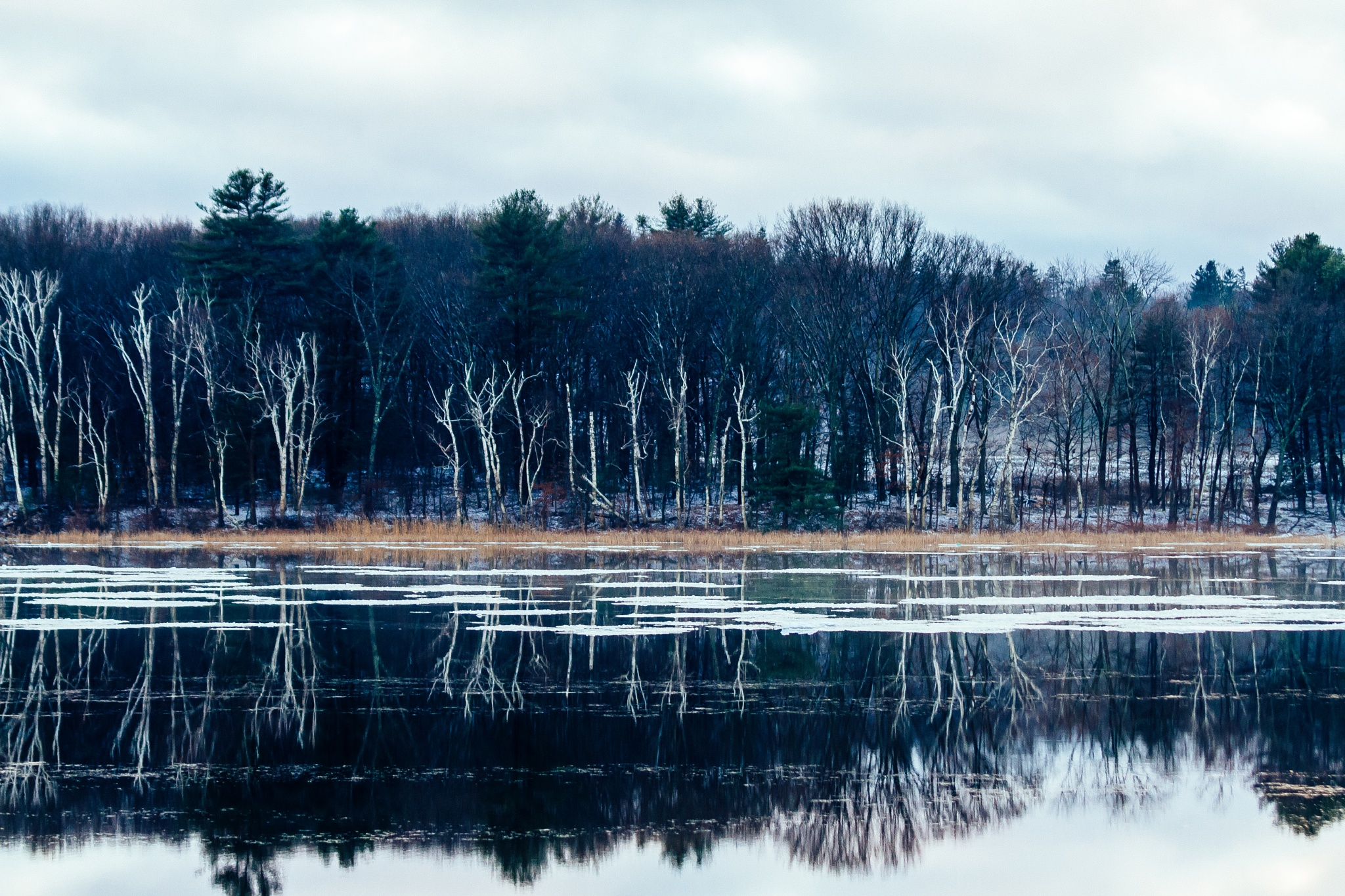 Merrimack River by Kay A. Ficht