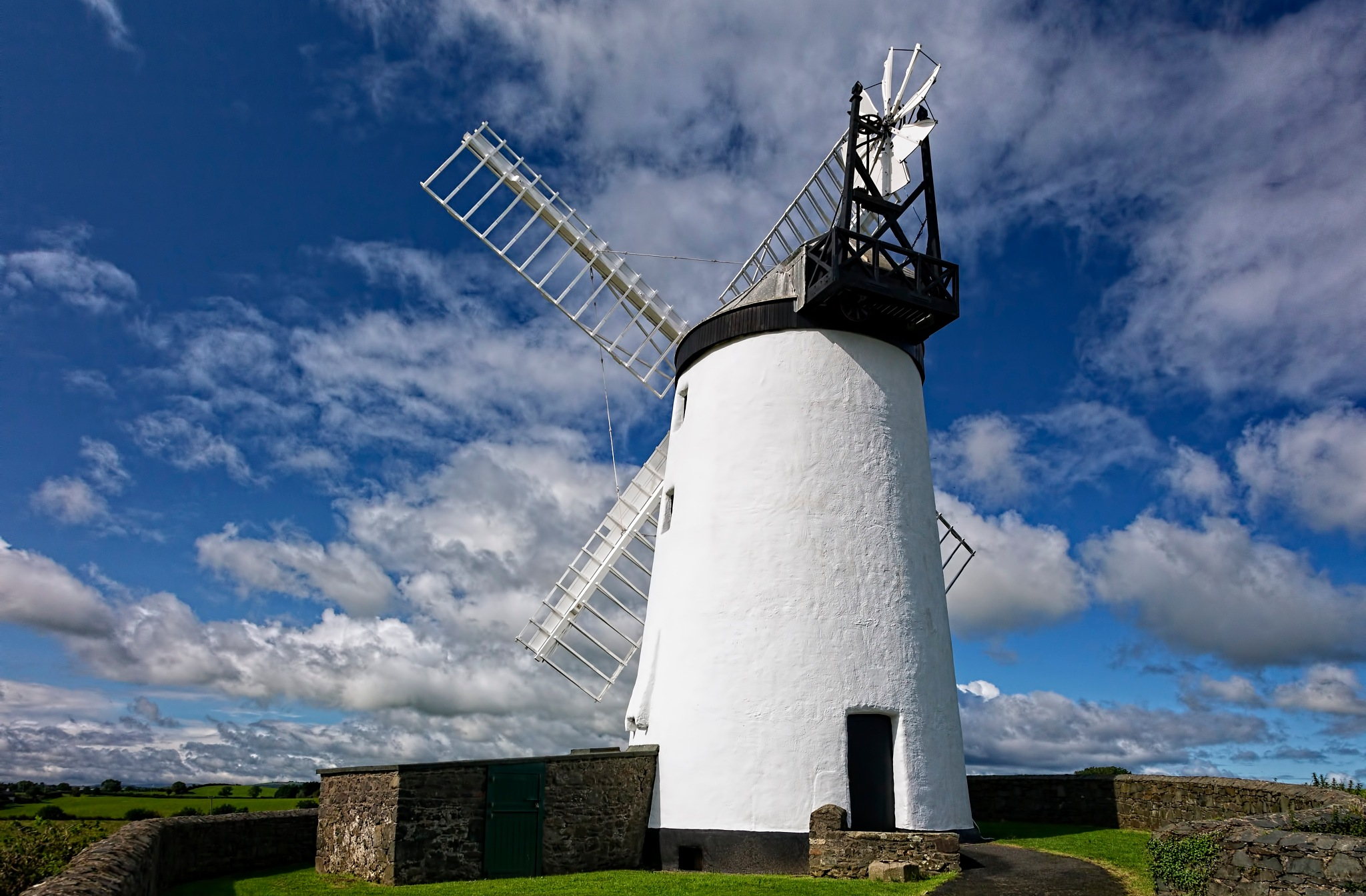 Ballycopeland windmill  2 of 2 by Peter Ellison