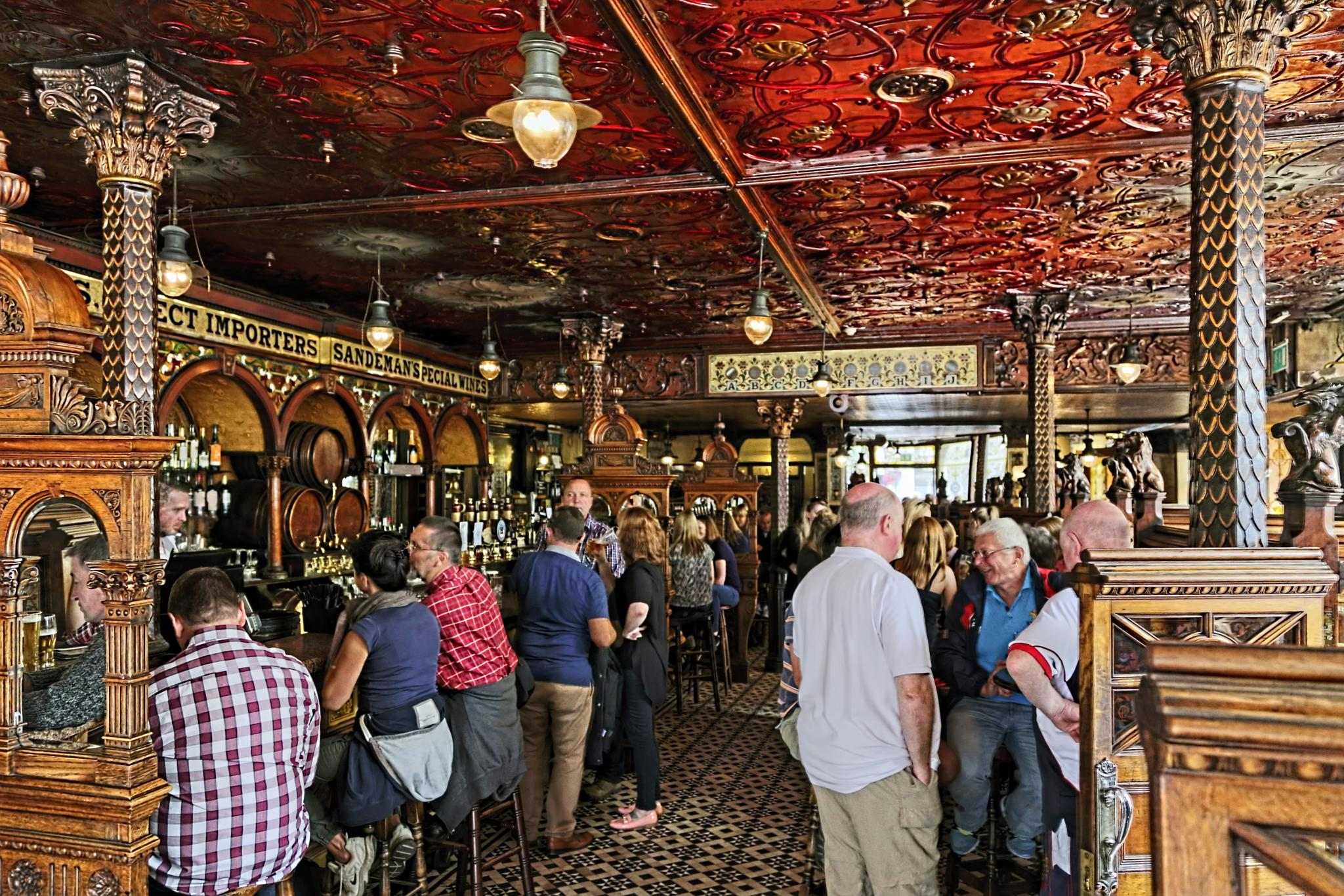 The Crown Bar. by Peter Ellison