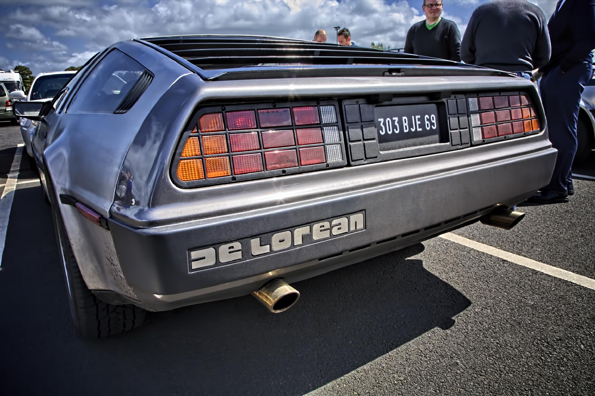 As DeLorean would say - my ass! by Peter Ellison
