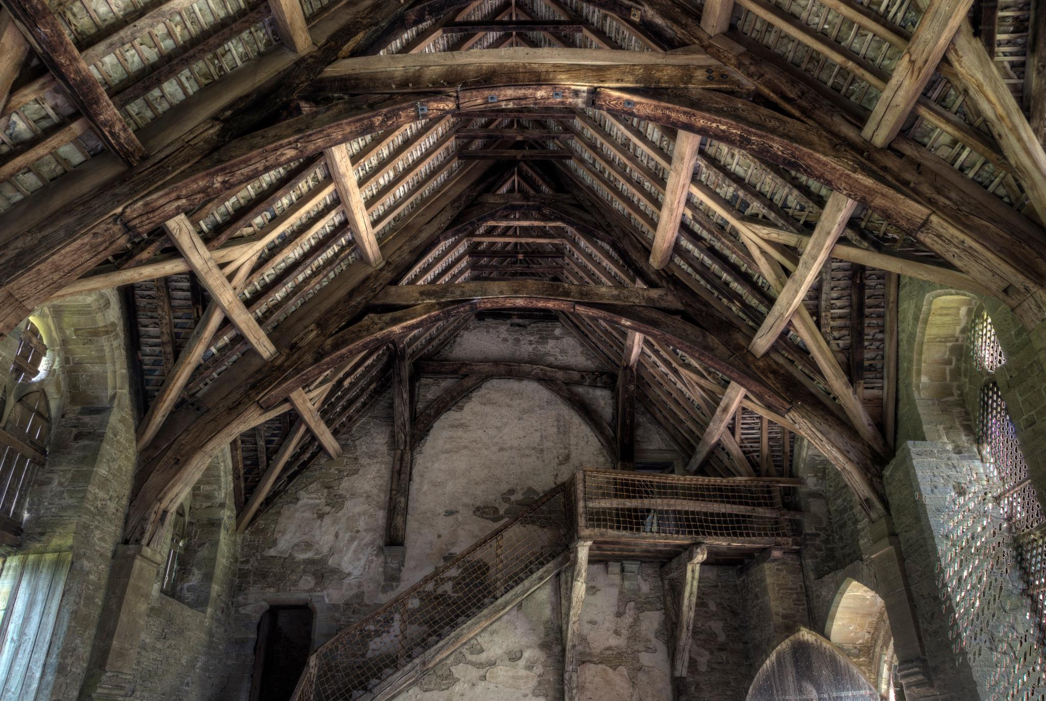 Stokesay Castle - 4 by Peter Ellison