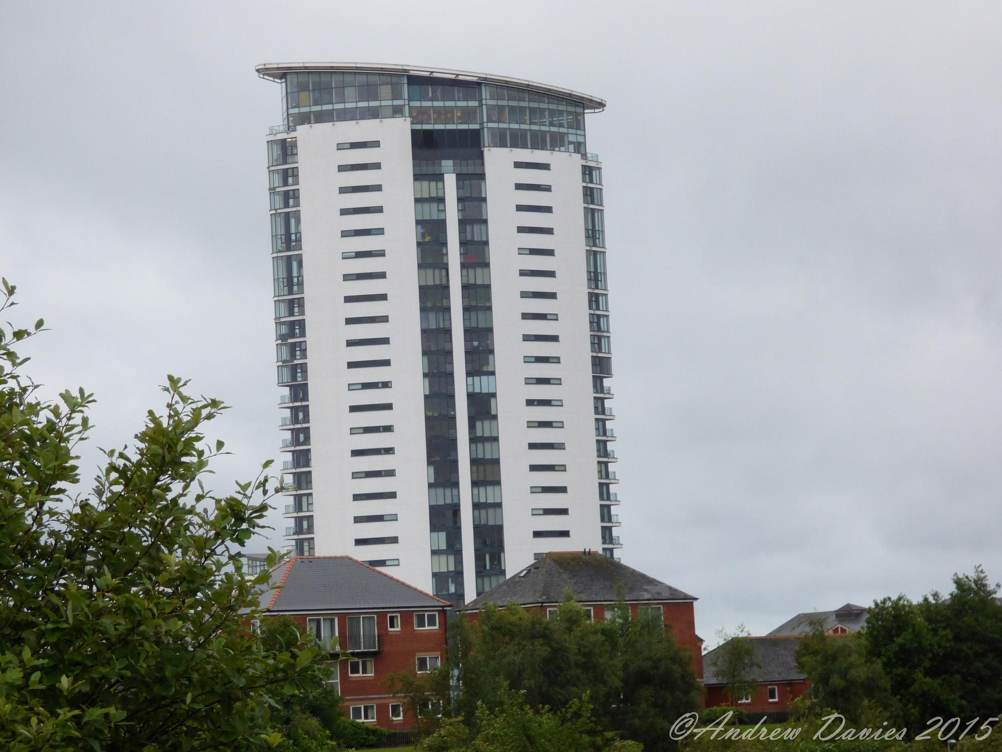 Swanseas Tallest Building by Andrew Davies