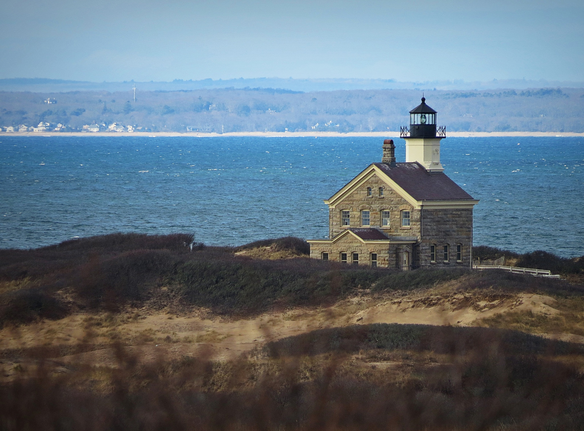North Lighthouse, Block Island, RI by captkweb