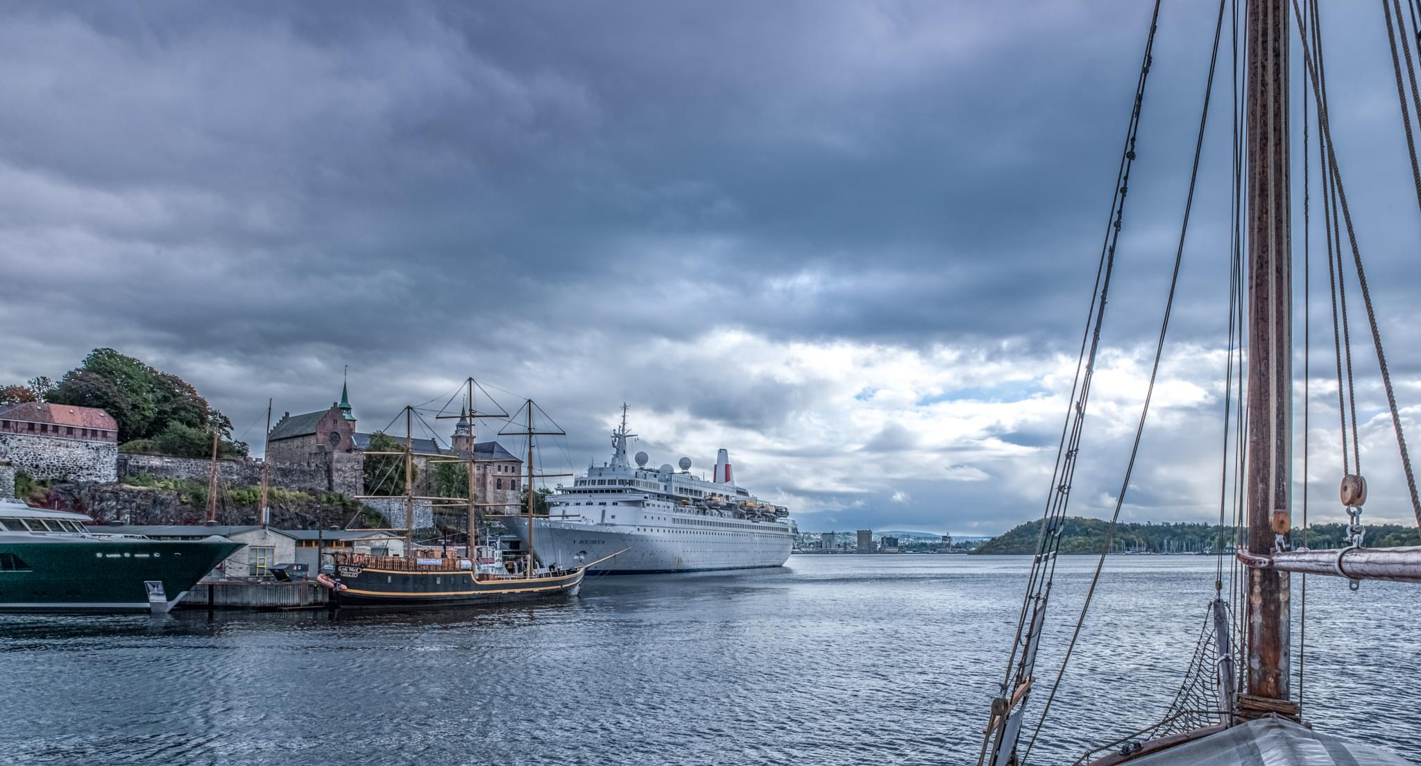 Oslo Fjord - A loveley place by Jens Walter