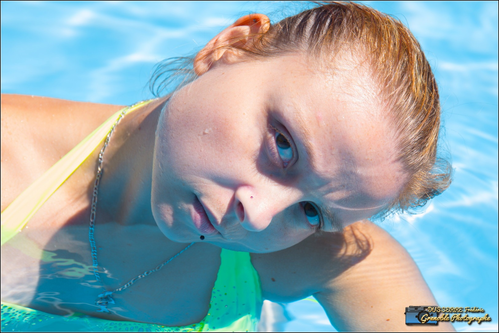 io dans l'eau by Frederic Dusserre