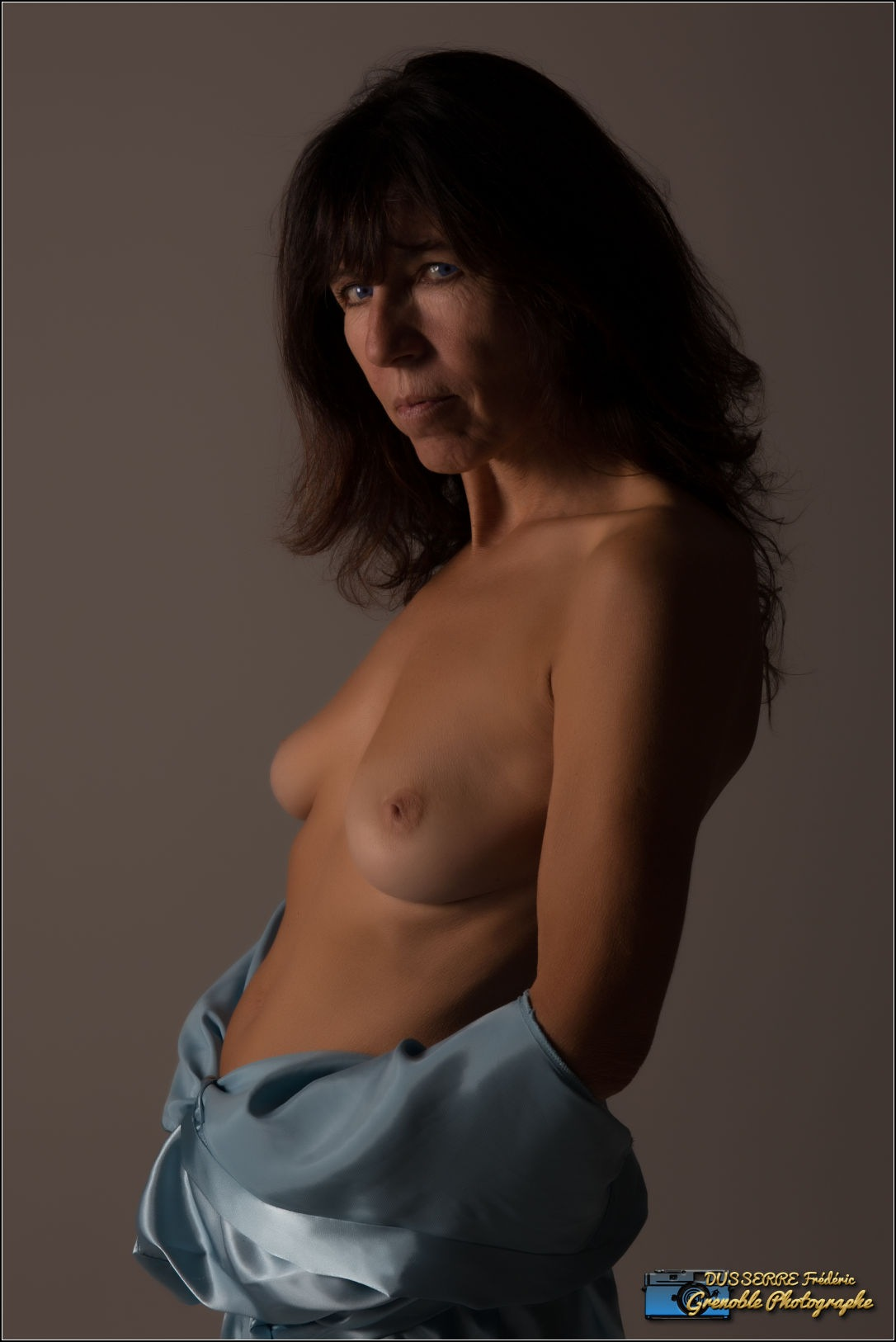 aude topless by Frederic Dusserre
