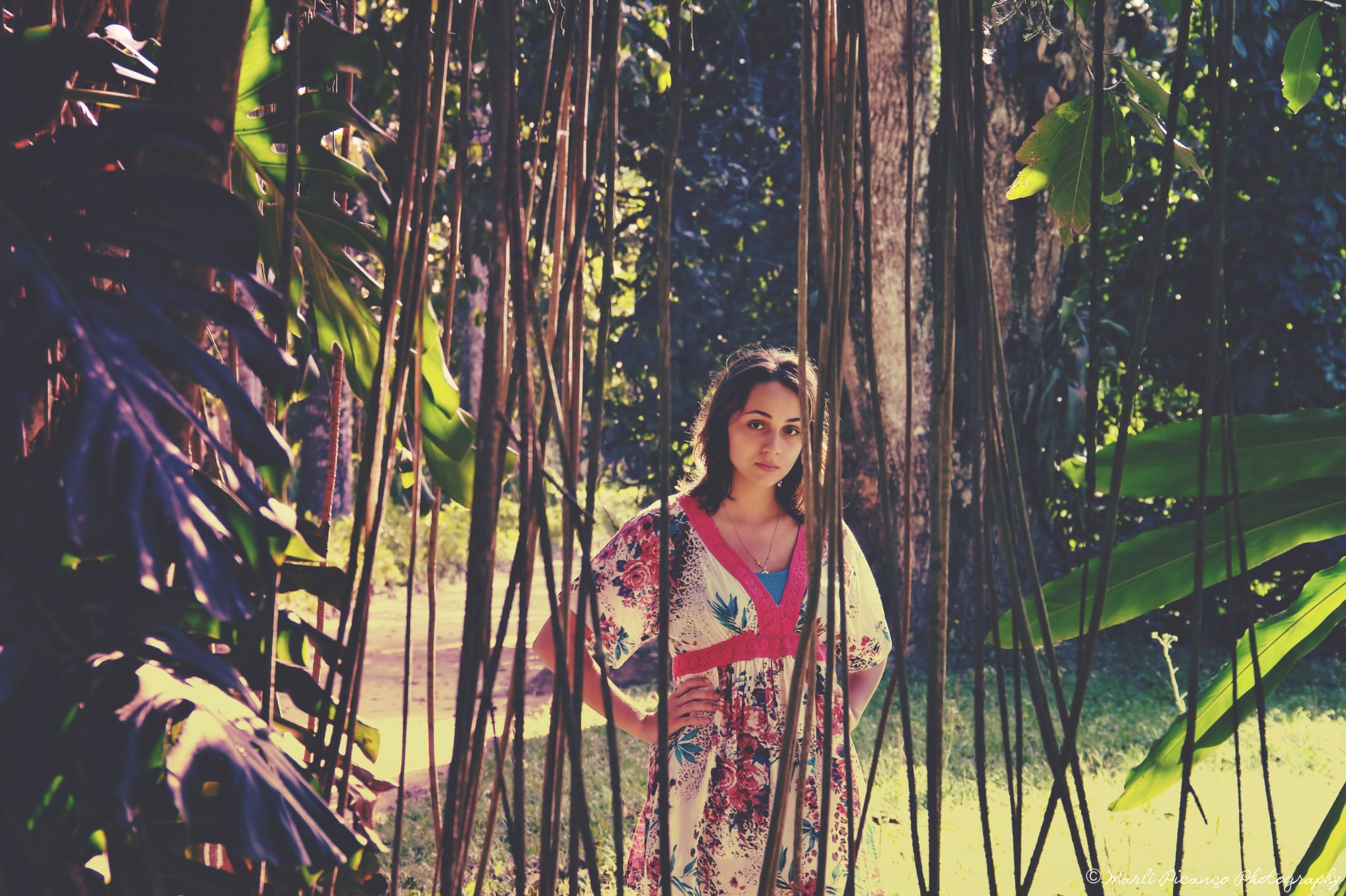 In the middle of nature by marlipicanco