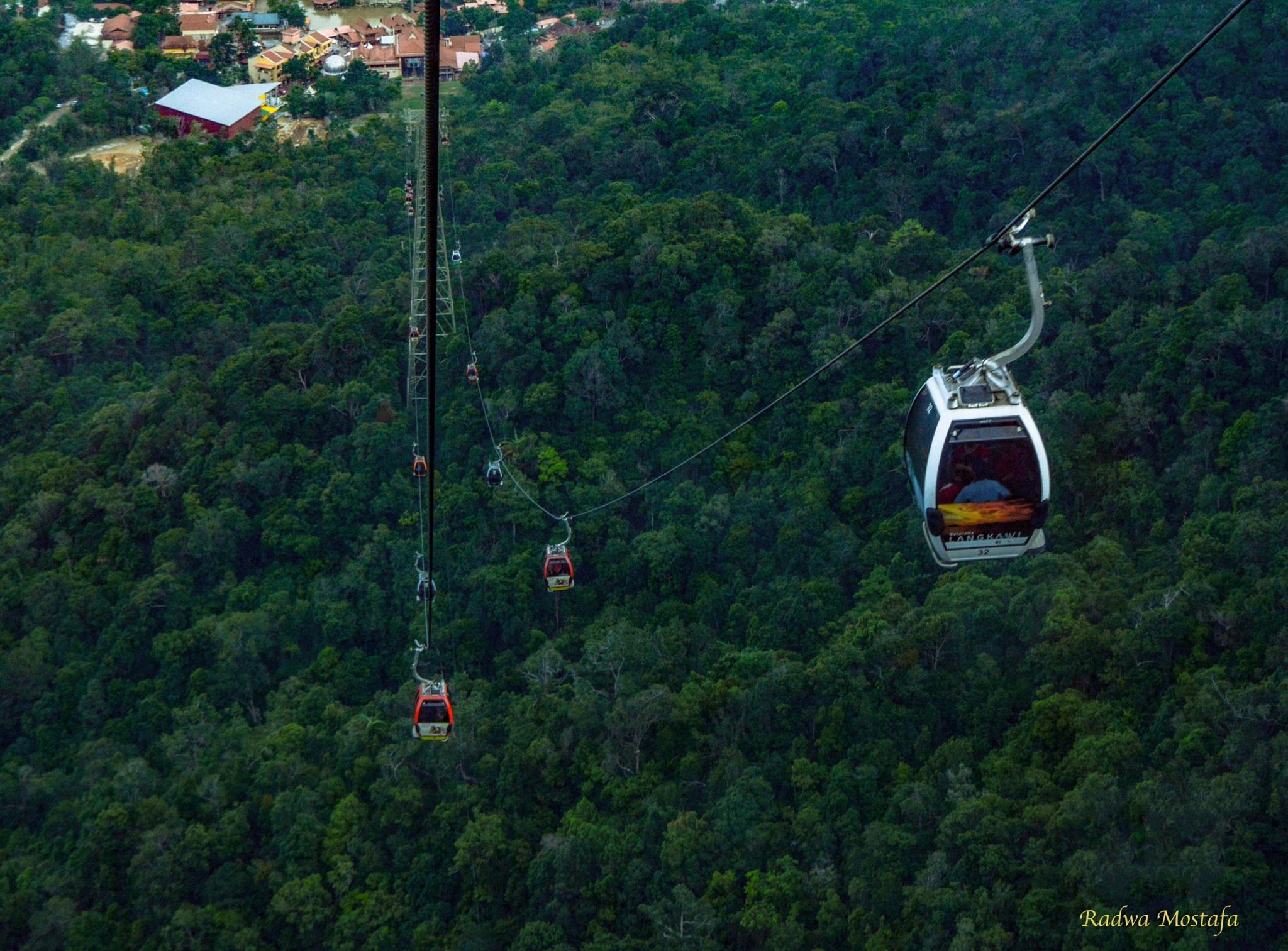 Langkawi Cable Car ...most amazing view.. by RadwaMostafa