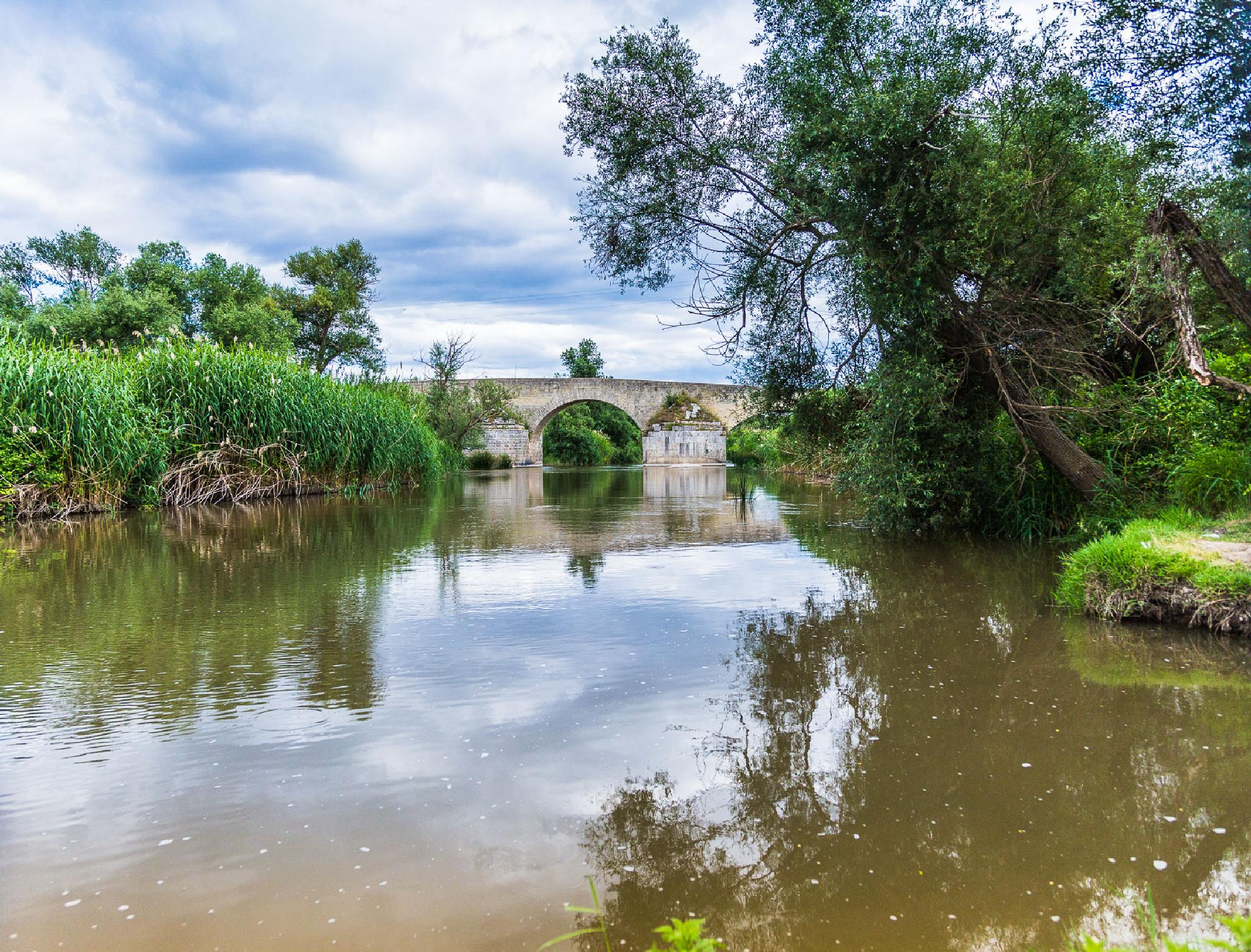 Roman Bridge by Gae8