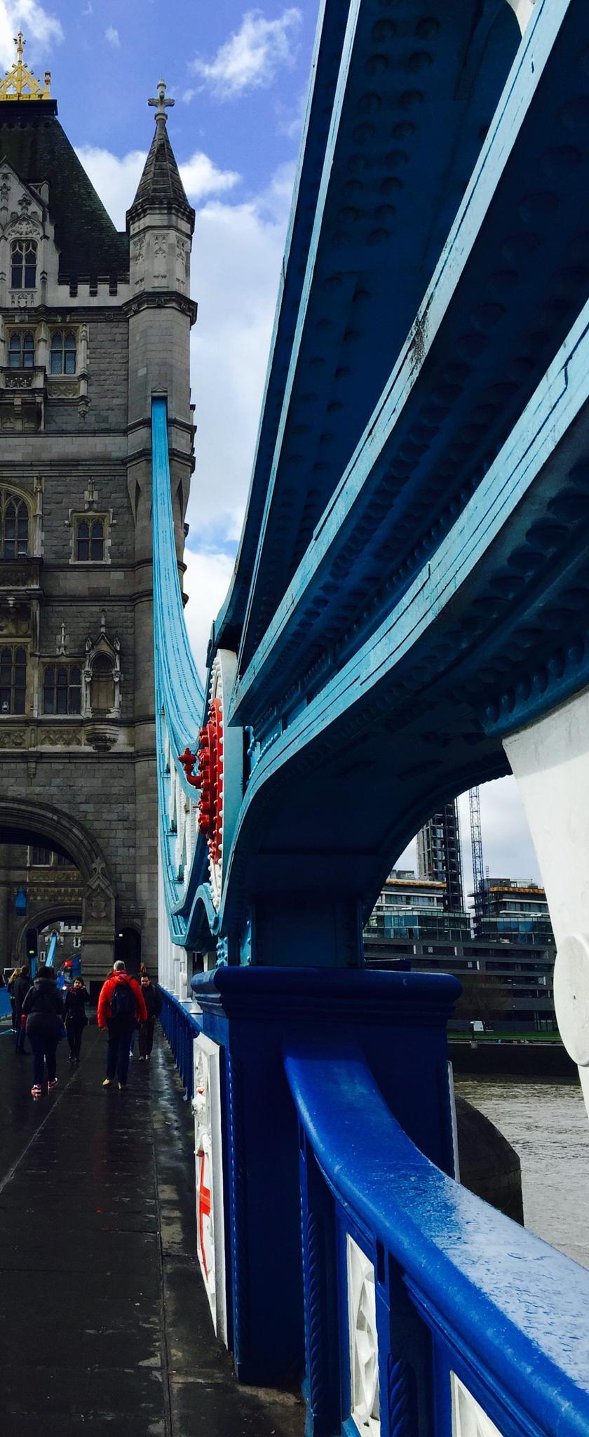 Bridge Blue by Thomas Ryste