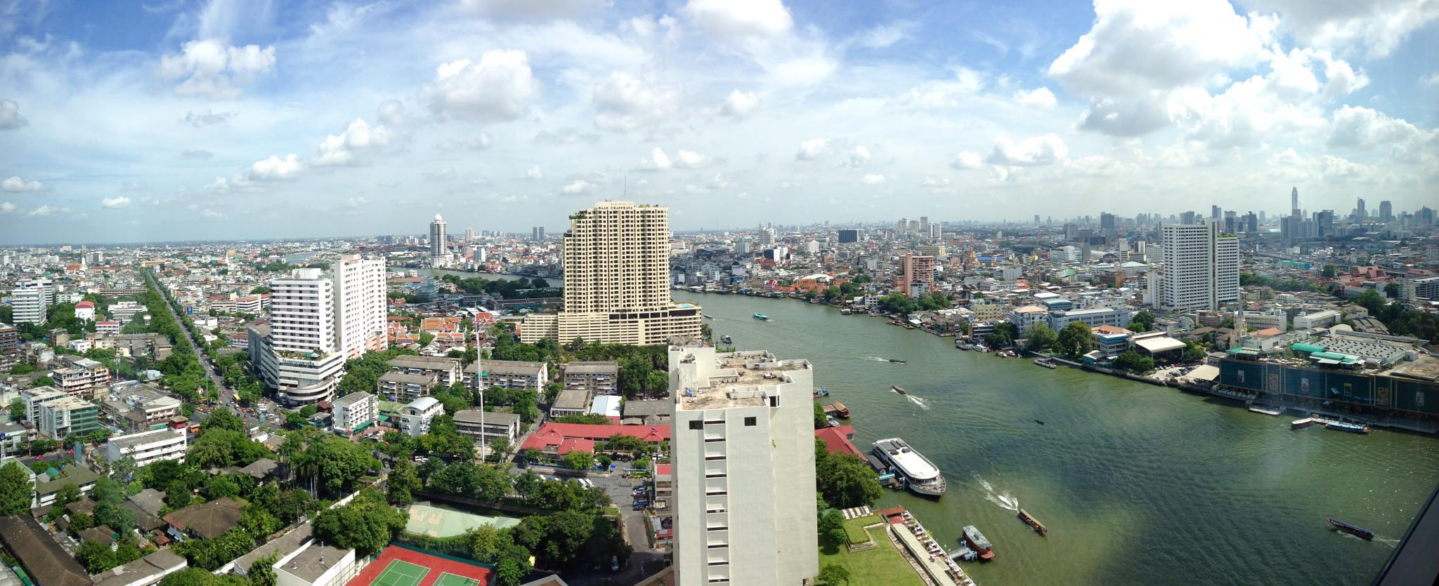 Bangkok view by Thomas Ryste