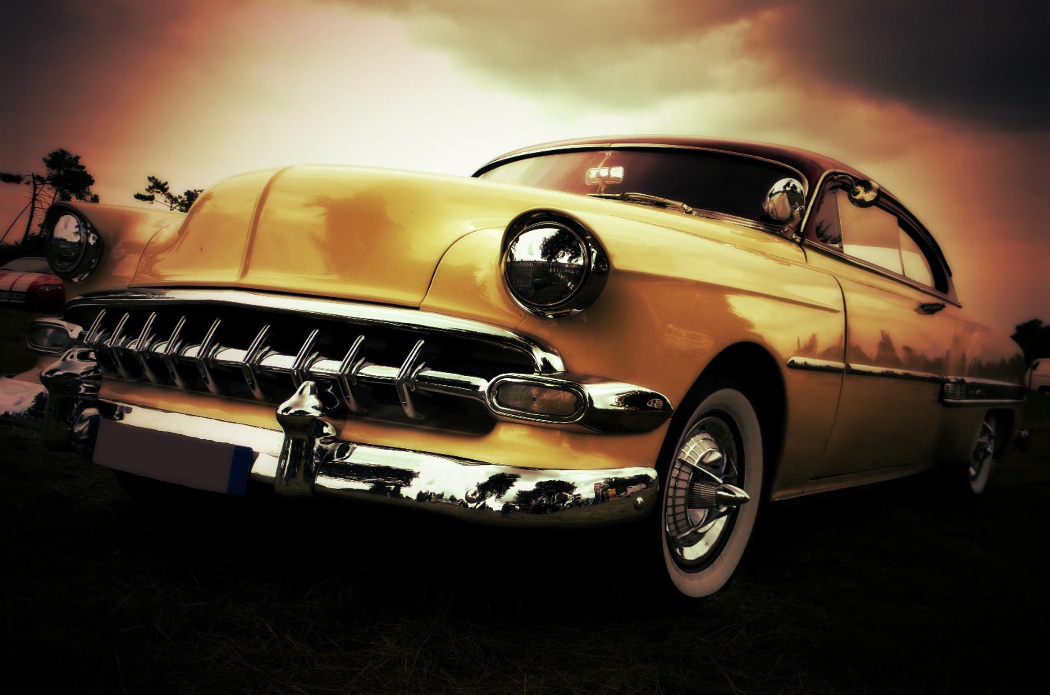 50's car by rollnstef