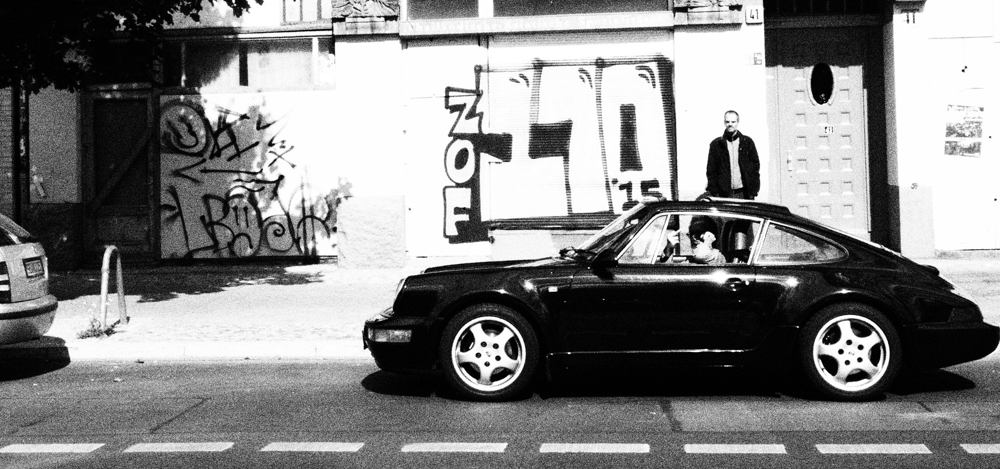 porsche but dont like to take photos of him....who cares by Cit Pelo