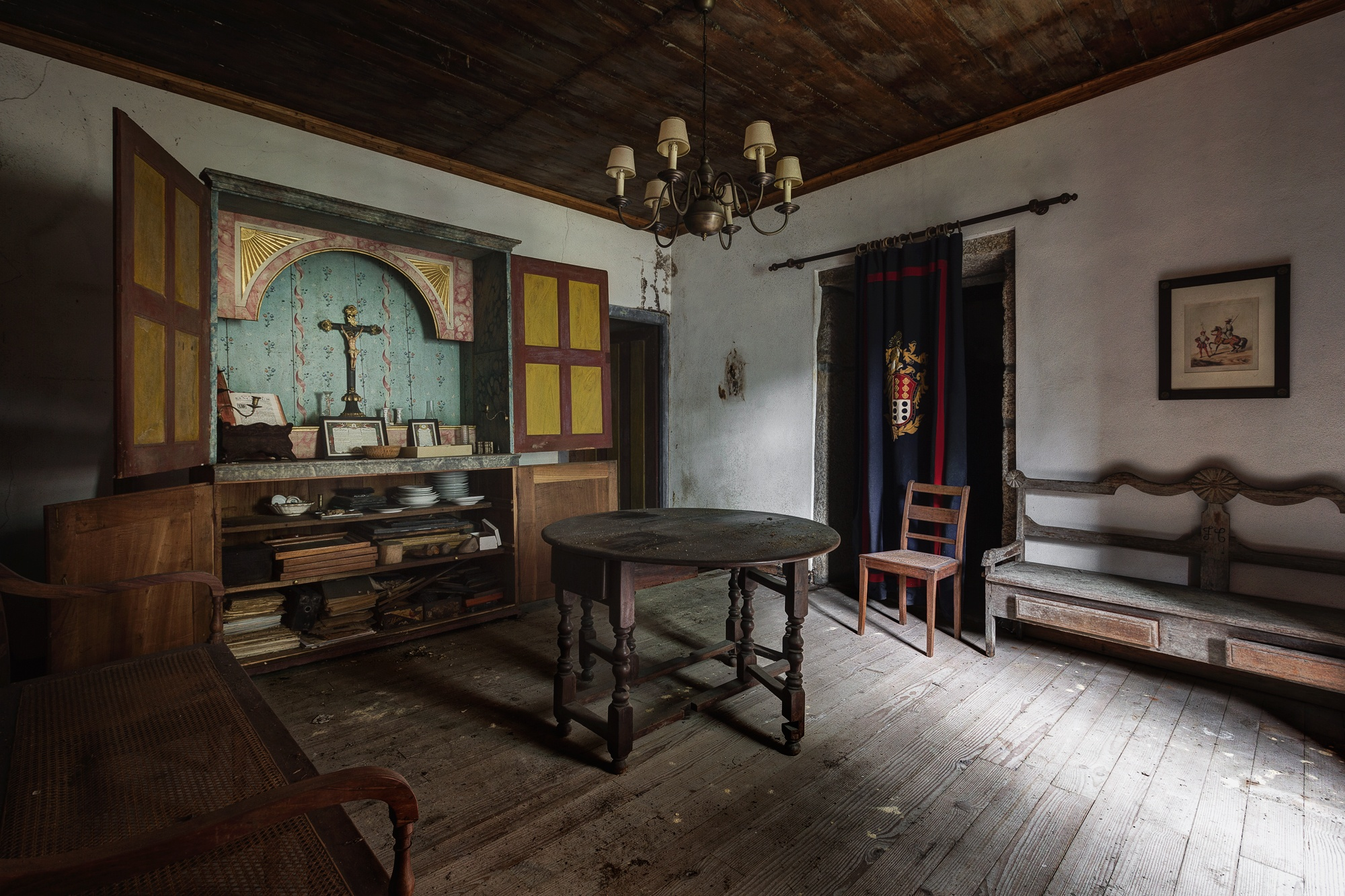 Photo in Urban #abandoned #decay #urbex #hdr #religion #faith #room #house