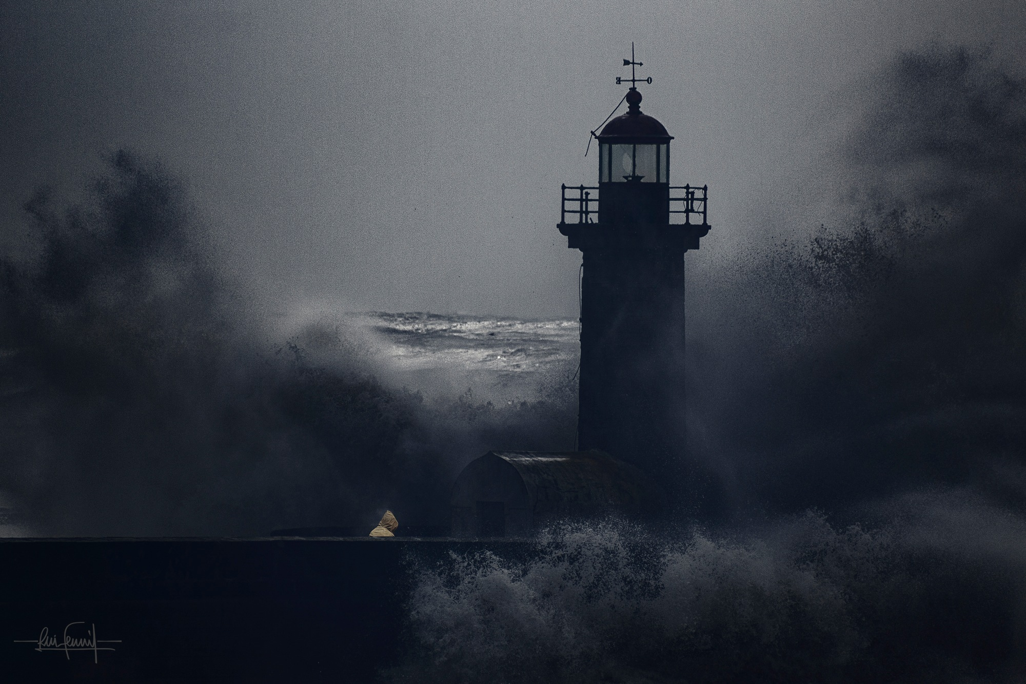 The fearless lighthouse keeper by Rui Ferreira