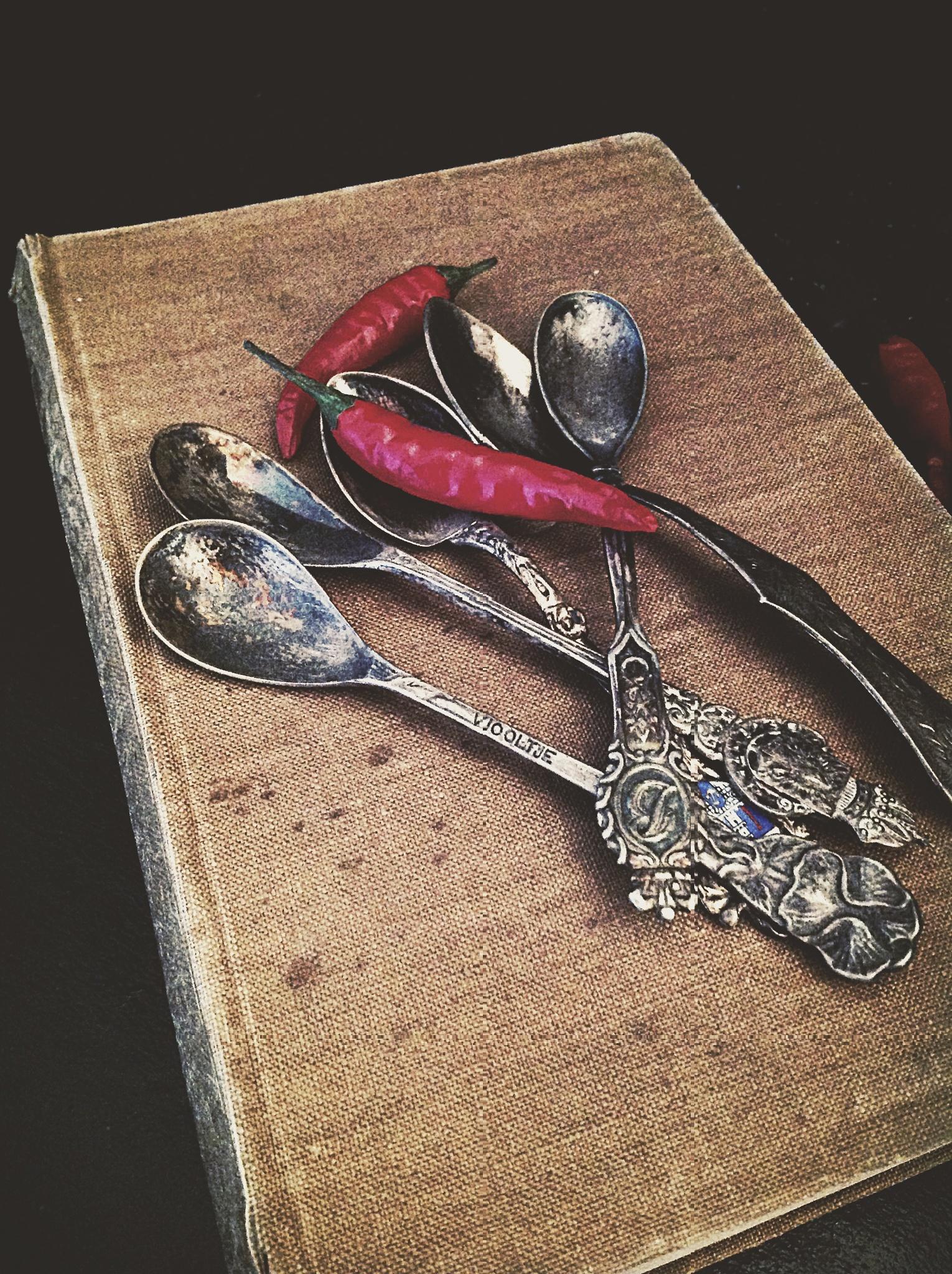 Old cookbook by Christina El Maach