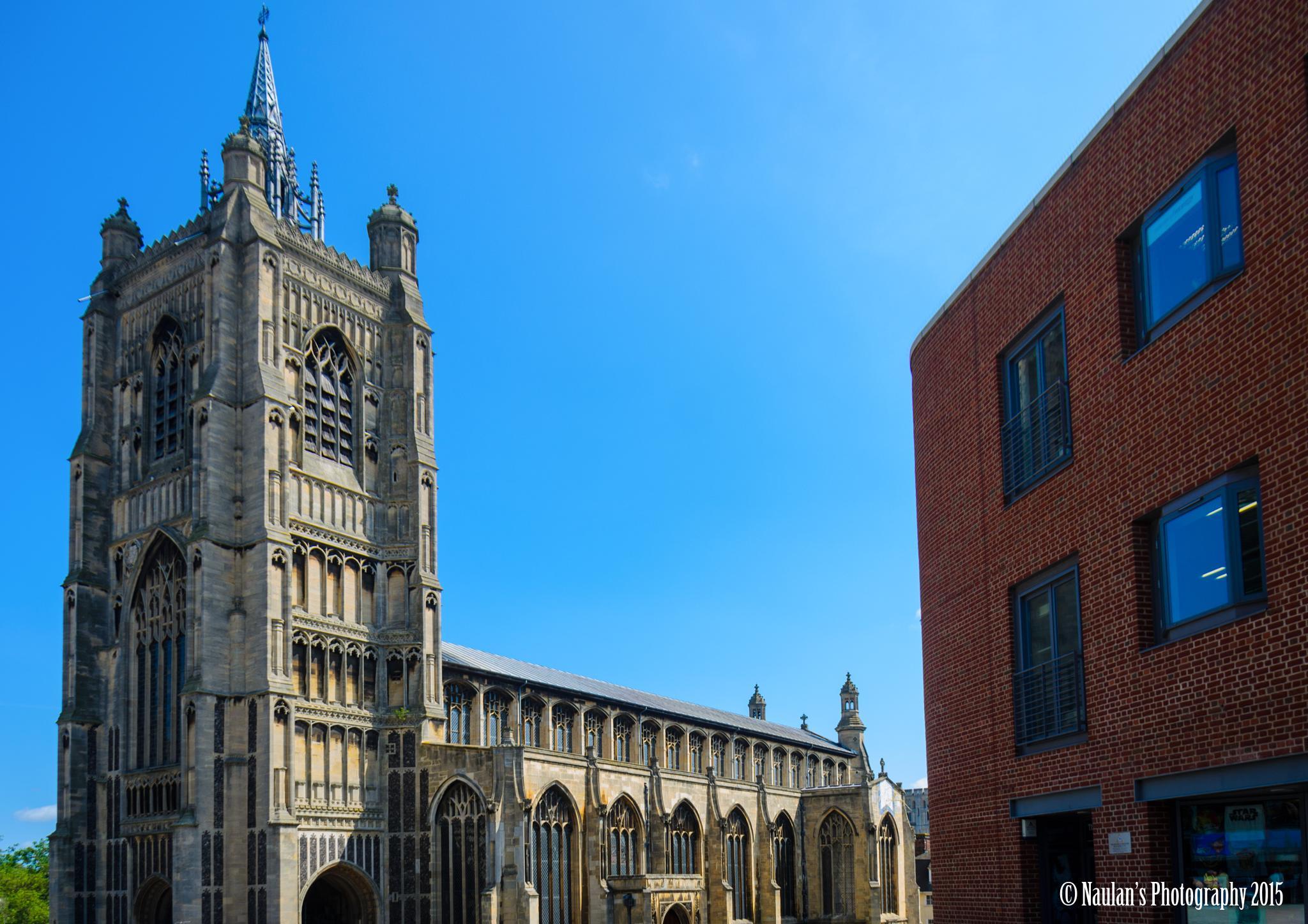 St Peter Mancroft Church by Naulan Charles