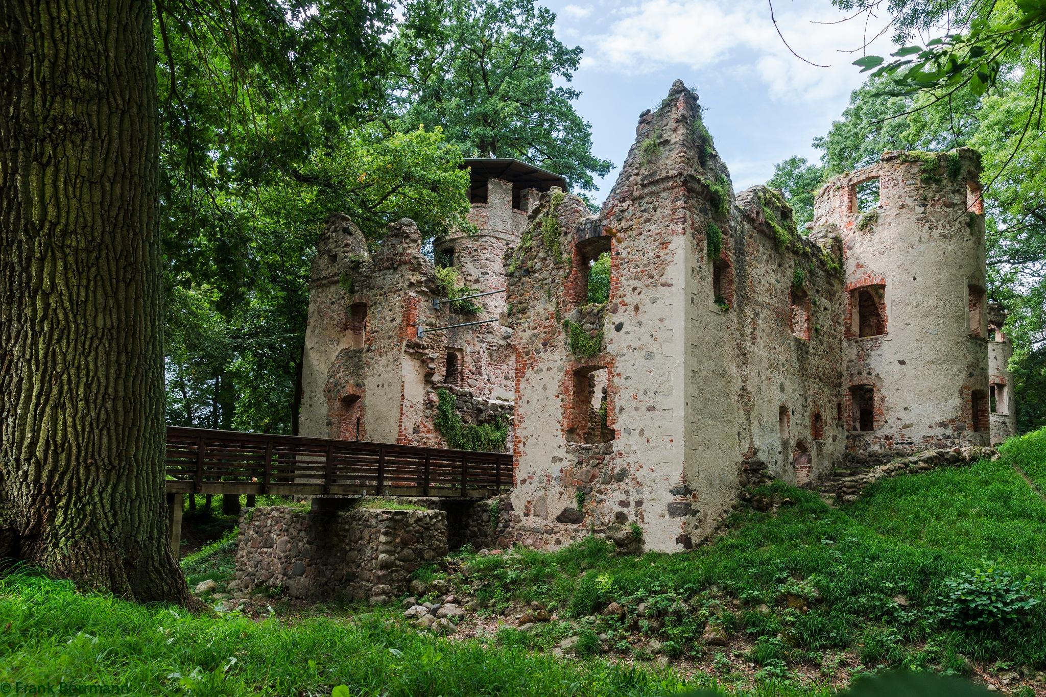 castle ruin Veste Landskron by FraBo