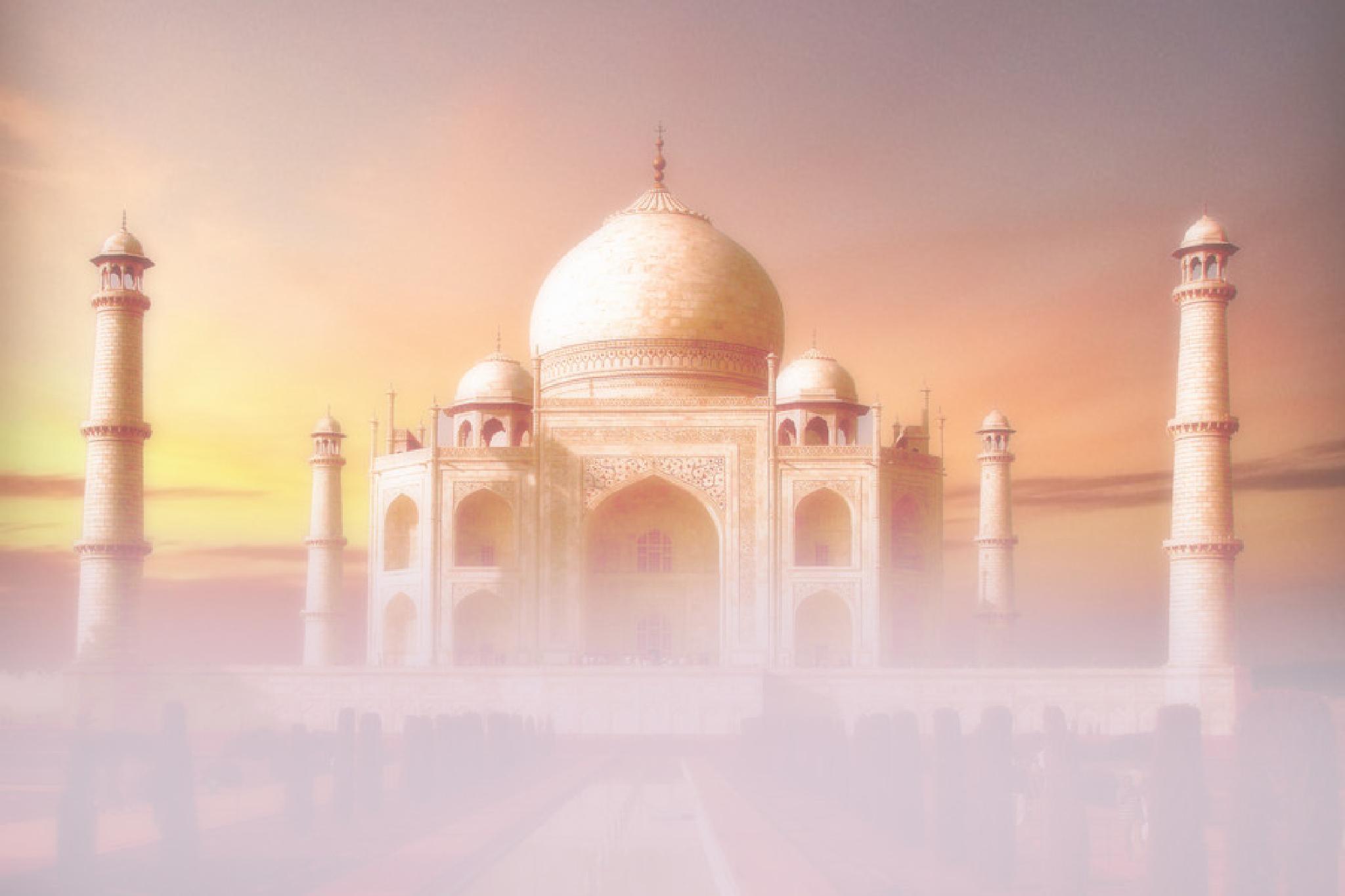 Taj Mahal by toalafoto