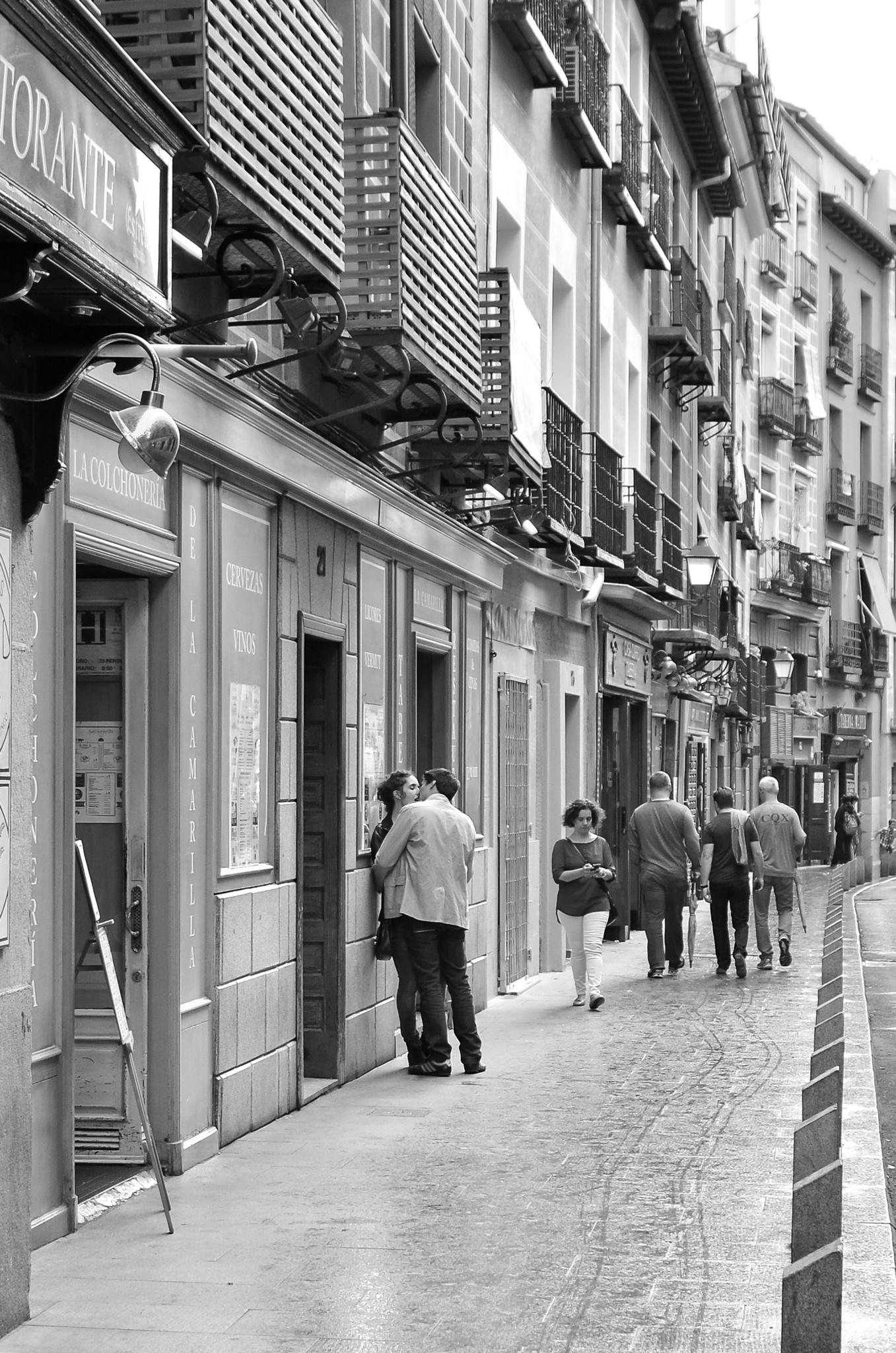 Love in Madrid by toenee65