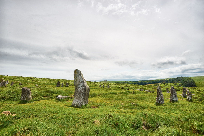 Scorhill stone circle by Ian K. Iles