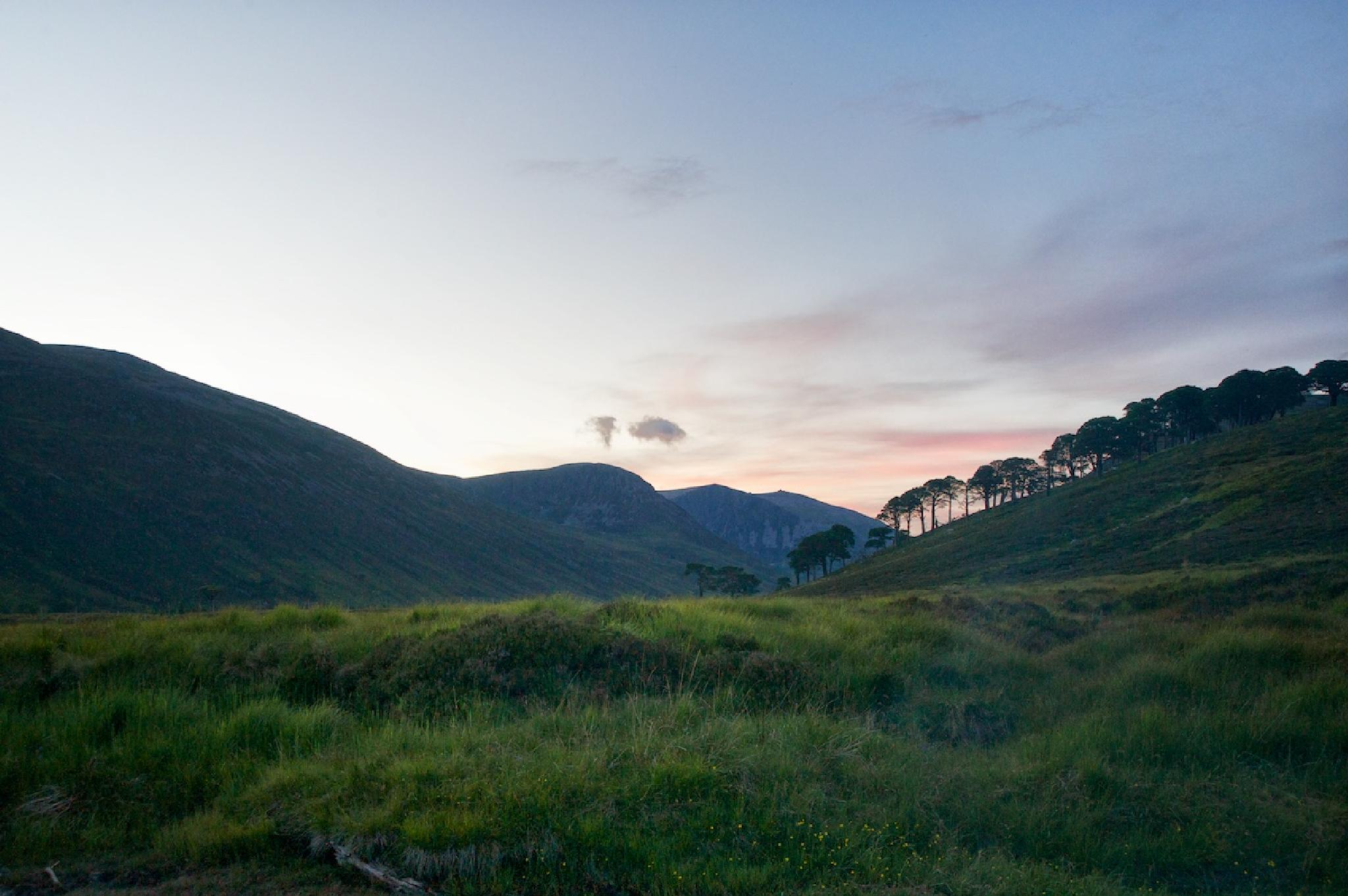 Dusk in the Cairngorms by Ian K. Iles